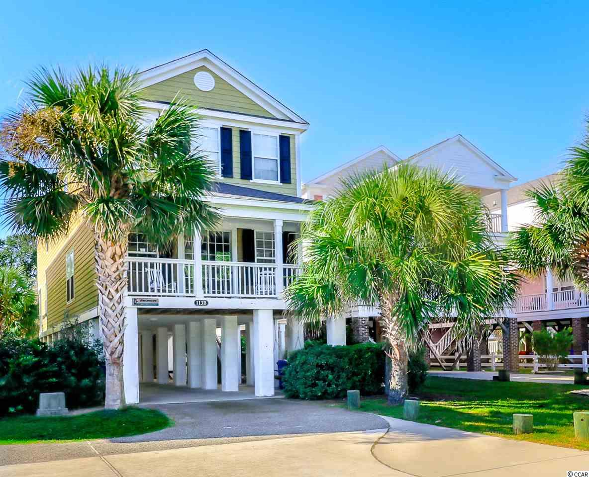 This 5-bedroom, 4-bathroom home is just a 1/2 block to the popular Surfside Beach.  Easy beach access only a short walk away.  Property features a private in-ground swimming pool in fenced backyard.  Two covered porches, with rear porch overlooking the pool area. Low maintenance tile floors in common areas and all bathrooms.  Open floor-plan allows for a spacious living/dining/kitchen area for large gatherings with family and friends.  Kitchen features a large breakfast bar and pantry.   Being sold fully furnished.  Recent updates/improvements: 2018 new refrigerator, carpet, and downstairs bedroom suite; new HVAC units within last 4 years; 2017 new flat screen TVs throughout.  Currently a vacation rental with Sea Star Realty.  Home is setup to comfortably accommodate up to 18 guests.  Rental history and bookings to date for 2020 available upon request.  Enclosed storage room under house.  Concrete driveway with covered parking.  Covered and driveway parking for 4+ vehicles.