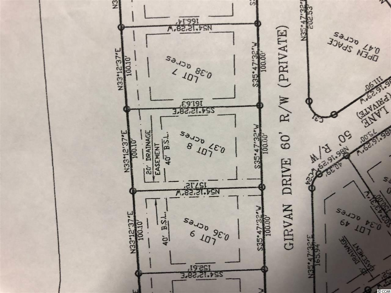 100ft wide lot on the golf course to build your dream home - very few of these  vacant home sites remain on the entire Grand Strand!  Home site has golf course and woods to the rear and is located on very quiet street with little traffic.  Get away from the cookie cutter communities and enjoy the spacious neighborhood of a Custom Built Community!  Amenities include a private clubhouse with pool, tennis courts, work out room, bocce court, party room with kitchen - 54 holes of golf with a top 100 public course - restaurant - famous alias pub - driving range - walking trail - security - Over 1300 acres - Come Live the Legendary Lifestyle!