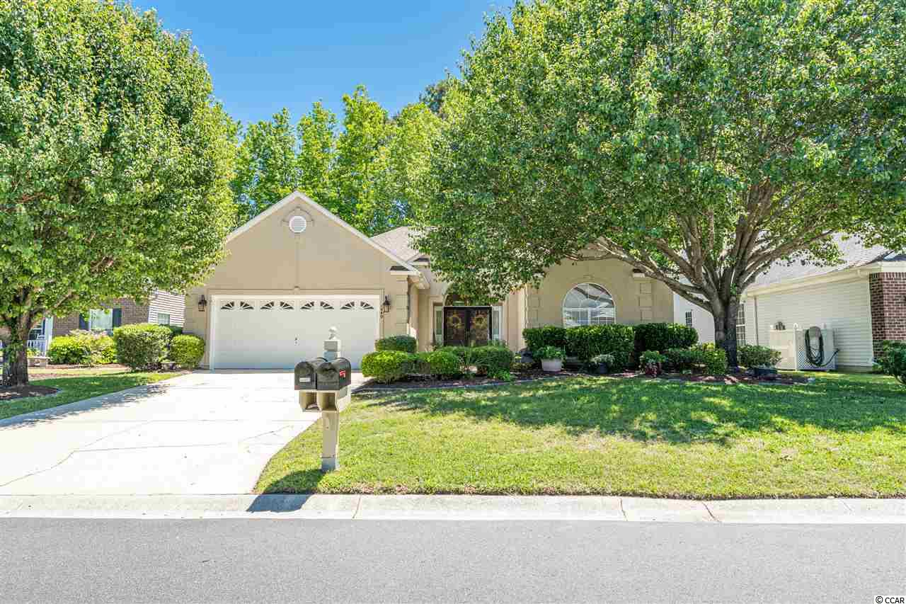 If you've been looking for an affordable home in Murrells Inlet, look no further. Located in the highly desirable golf course community Indigo Creek, this lovely home is only a few miles from the beach! It is also conveniently located near the popular Marsh Walk, Brookgreen Gardens, Market Commons and all of your entertainment needs. This move-in-ready home is a blank slate ready for you to put your personal touches on it. Rest assured that the major upgrades have already been taken care of. A brand new roof was put on in 2018 and a new heat pump was installed in 2019! This home has great features including vaulted ceilings, a breakfast bar, center island, pantry, formal dining room, great foyer and built-ins in the living room. This home has an elegant entrance with a large open floor plan that offers 3 bedrooms, 2 baths and an over-sized den that can be used as an office or a fourth bedroom! The deluxe master suite includes a garden tub, shower, walk-in closet and a double vanity. Complete with sliding glass doors, the master offers easy access to the back patio where you can enjoy your morning coffee. Schedule your showing today! Square footage is deemed reliable but not guaranteed. Buyer is responsible for verification. Video walk thru available so you can enjoy a tour of this lovely home no matter where you are!