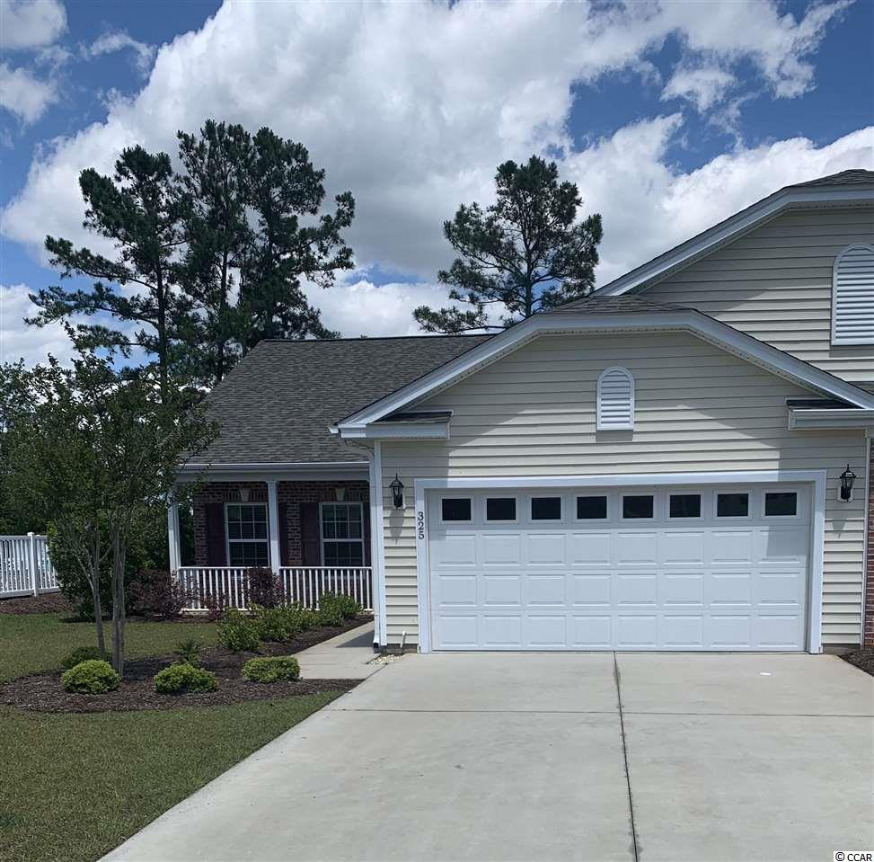 Come see this Move-In Ready 3Bed/2Bath paired ranch located in the desirable community of Deerfield Links. Centrally located on the south end of the Grand Strand, you will be within a short distance to the beach, the coastal favorite Market Commons, and much more! This home offers a spacious open floor plan along with vaulted ceilings in the Family Room and the Master Bedroom. The Master Bedroom has a huge walk-in closet and in the Master Bathroom, you can enjoy a garden tub and separate shower. Stainless steel appliances are in the kitchen that complements the granite countertops. It has the feel of a cozy single-family home and yet you have one shared wall and the HOA takes care of the trash pickup, pool, basic cable, water/sewer, and the exterior insurance. This home is ready for you to move in and start enjoying the beach life! All measurements are approximate and are not guaranteed with verification responsibility of the buyer.
