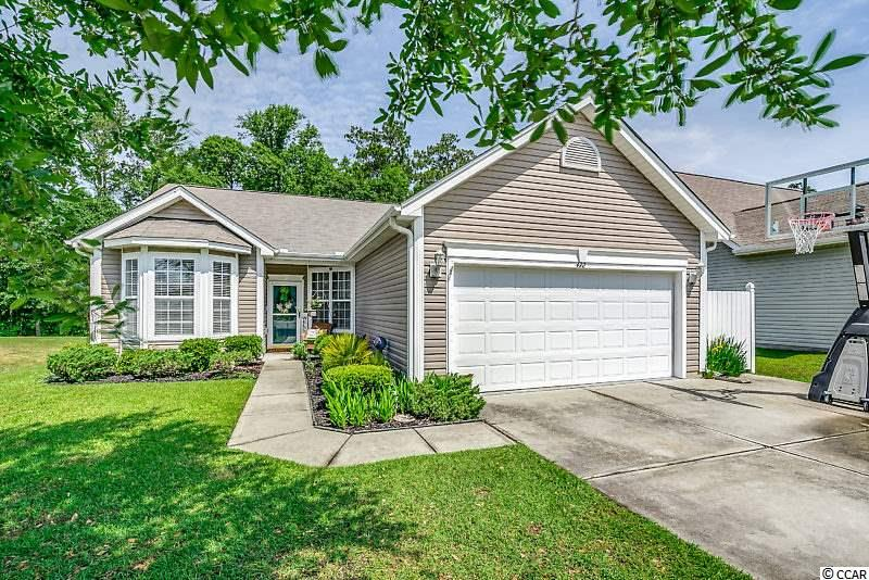 Great value in Hidden Lakes Village.  This 3 bedroom/2 bath home has been well maintained with an open and airy feel.  Private, big backyard.  Eat-in kitchen.  Master suite with walk-in closet, tub, shower and double sinks.  Laundry room.  Inviting window-filled sun room with sliding doors which open to the back patio.  Screen porch to enjoy the outside.  Two car garage.  Hidden Lakes - a lovely community with large community pool, tennis courts, playground and lakes.  Only minutes from the beach, shopping and restaurants!