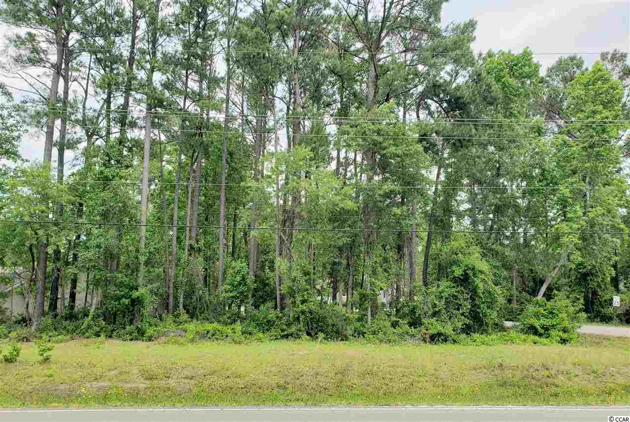 Residential Building Lot in Cherry Grove. No HOA. Triangular shaped lot with 162' of frontage on Little River Neck Rd & 108' of frontage on 26th Ave N. Buy today and build later. Choose your own Builder.