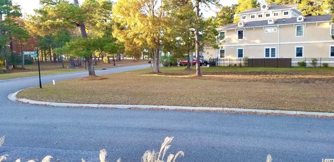 Beautiful and spacious corner lot located right next to the pools and amenities  center in the prestigious Waterbridge neighborhood at Carolina forest. Voted #1 Community Amenities in SC include: several pools with lap , a grand zero entrance kiddie pool, large fitness center, tennis courts, basketball court, sand volleyball court, boat launch and pier.Located 5 miles from the beach and close to many great restaurants and stores on the Grand Strand. Don't miss out on this wonderful spot to build your dream home. Choose your own builder with no set time to build.