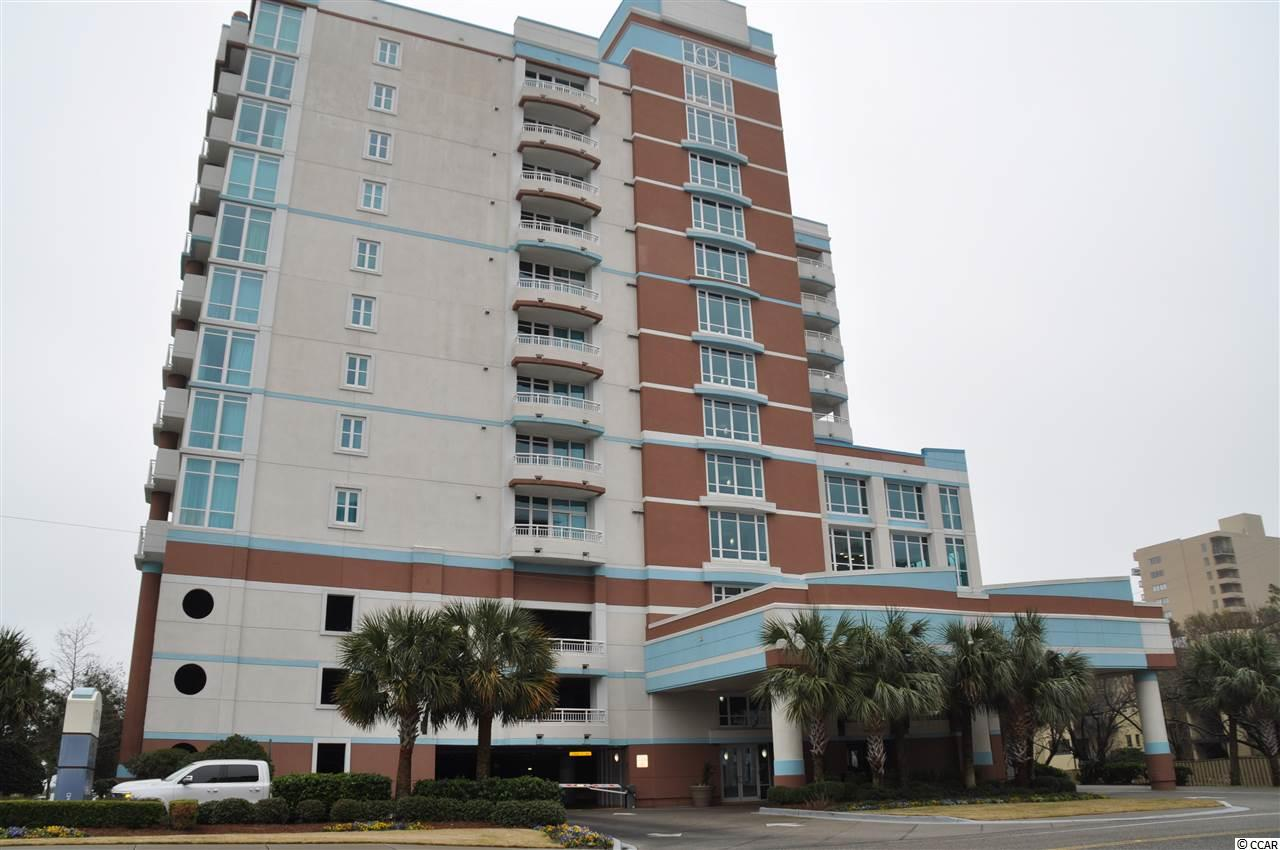 Beautiful 2 bedroom, 2 bath condo with an awesome ocean and city view.  Newer building with lots of amenities.  Great for a rental investment property or second home.  Roof top pools and hot tubs, fitness gym and much more!  Sold furnished and already on a successful rental program.  HOA includes insurance and all utilities.  This unit is turn-key!  Schedule your showing today.