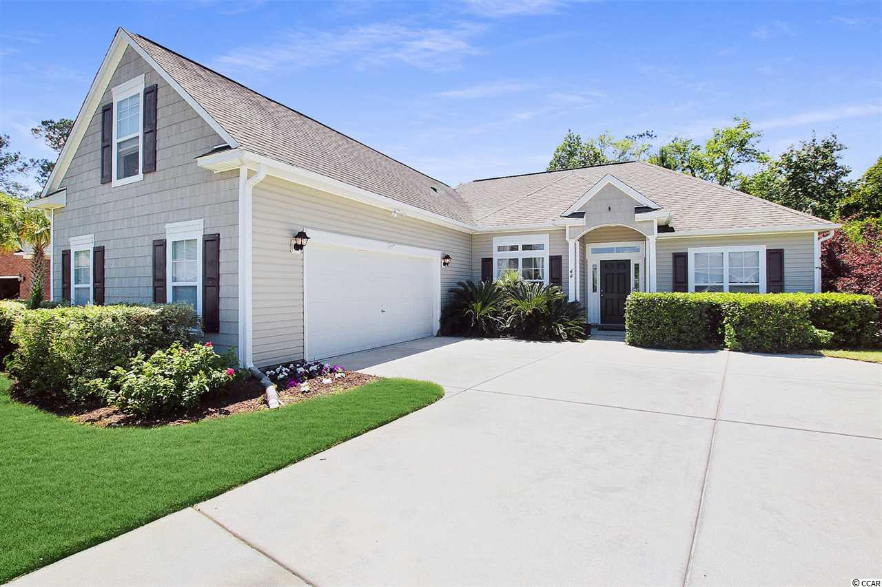 Presenting this graceful 3 bedroom 2 bath home located in the Links Brook section of the Prince Creek community. This elegant home has hardwood, tile & carpet flooring, vaulted ceilings, transom & palladium windows, abundance of natural lighting, smooth flat ceilings with fans, spacious living room, an inviting formal dining room, and a delightful Carolina room with access to the relaxing back patio. The kitchen features a breakfast bar, stainless steel appliances, dishwasher, smooth flat top range, side by side refrigerator with ice & water door dispenser, built-in microwave, a practical kitchen pantry, maple cabinets with crown moulding, granite counter tops, and a breakfast nook. The master bedroom features a deep single step tray ceiling with fan along with private access to the master bath that showcases a vanity with dual sinks, water closet, soothing garden tub, step-in shower, and a large walk-in closet. This enchanting home is completed with two additional bedrooms along with a full guest bath, an ideal upstairs bonus room, laundry room, and a two car side load garage. Links Brook of Prince Creek is one of the most popular communities in Murrells Inlet with a 1st class amenities package that includes a sparkling outdoor pool, a resort style clubhouse with a fitness center and a meeting area, covered picnic areas, horseshoe pit, and tennis courts. This home affords you easy access to the beach and golfing along with all of the other activities and happenings in Myrtle Beach & Murrells Inlet including fun eateries, award winning off-Broadway shows, public fishing piers, Marsh Walk, and intriguing shopping adventures along the Grand Strand. Conveniently located to your everyday needs, including grocery stores, banks, post offices, medical centers, doctors' offices, and pharmacies. Check out our state of the art 3-D Virtual Tour.