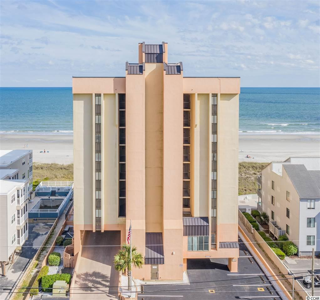 RARE OPPORTUNITY- Oceanfront 3 bedroom 2 full bath condo in the Wellington a Boutique Oceanfront Condo Building with ONLY 28 condos located in the prestigious Crescent Beach area of N. Myrtle Beach! Direct ocean views from kitchen, dining, living room and master and beautiful wood flooring. Expansive oceanfront balcony areas to enjoy the amazing views of the ocean and relax to the peaceful sounds of the waves coming ashore!  Condo comes fully furnished and would be perfect for a primary residence or secondary home. The Welling offers an array of amenities which include outdoor pool and jacuzzi, sundeck, BBQ area and onsite parking! This one won't last long, call today to schedule your private showing or video tour!