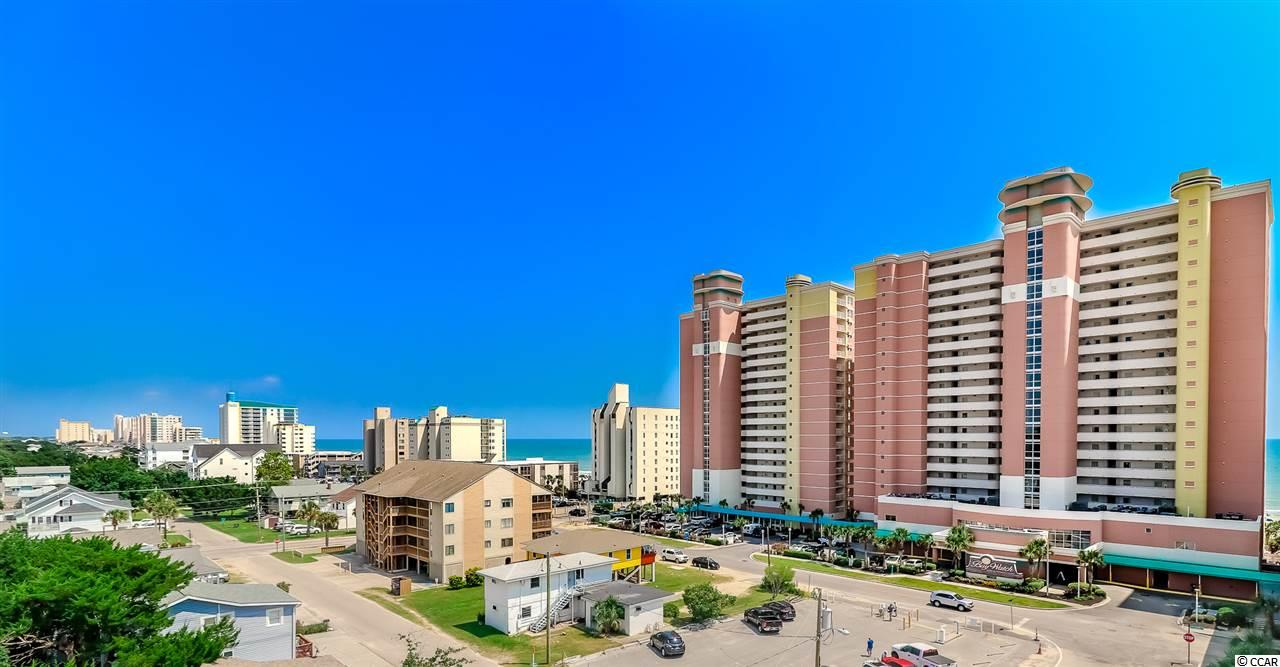 Come check out this beautiful, deluxe true 1 bedroom oceanfront condo located in the popular Baywatch Resort.  Unit 1014 is in the Center tower which features the registration desk, conference center, restaurant, gift shop, & 4 elevators.  This unit has been freshly painted in 2019, tile floors throughout, recessed LED lighting, fully equipped kitchen with cabinets updated in 2018, new HVAC system (air handler & A/C unit) April 2019.  This unit has a washer and dryer as well as the bathroom has a Jacuzzi Tub.  This unit sleeps 6...king size bed, full size Murphy bed and queen pull-out sofa bed.  Drive up to the front steps, be greeted by a bell captain to assist with luggage and valet parking! Baywatch has indoor/outdoor pools, lazy river, Jacuzzis, fitness center, convention space, restaurant, sports and a tiki bar - everything needed for a great vacation! HOA fees are very affordable and include electric, cable and internet.Come check out this awesome 10th floor true 1 Bedroom Oceanfront Condo.