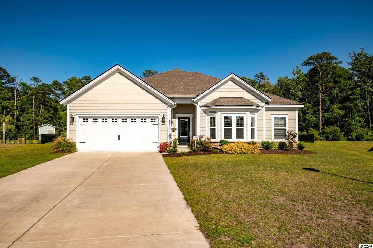If you are looking for a newer home with a huge lot on a cul de sac, then look no further and welcome to 360 Southgate Court! This beautiful home was built in 2017 and is situated in The Colony, a small neighborhood in Pawleys Island. This home has plenty of space with an open floor plan, 3 bedrooms, 2 full baths and half bath. There is also a great room overlooking the large backyard that can be multi-functional and great for all your needs. The master suite has two closets and a big on-suite with a large soaking tub and standalone shower. You will also find a beautiful kitchen with a built-in desk area, breakfast nook and walk in pantry. The gem of this home is the huge lot in which this home resides on that overlook's beautiful tall trees and a private wooded area. The privacy that comes with 360 Southgate Ct. is unbeatable and hard to find in Pawleys Island. This home is awaiting the new owners, come take a look.