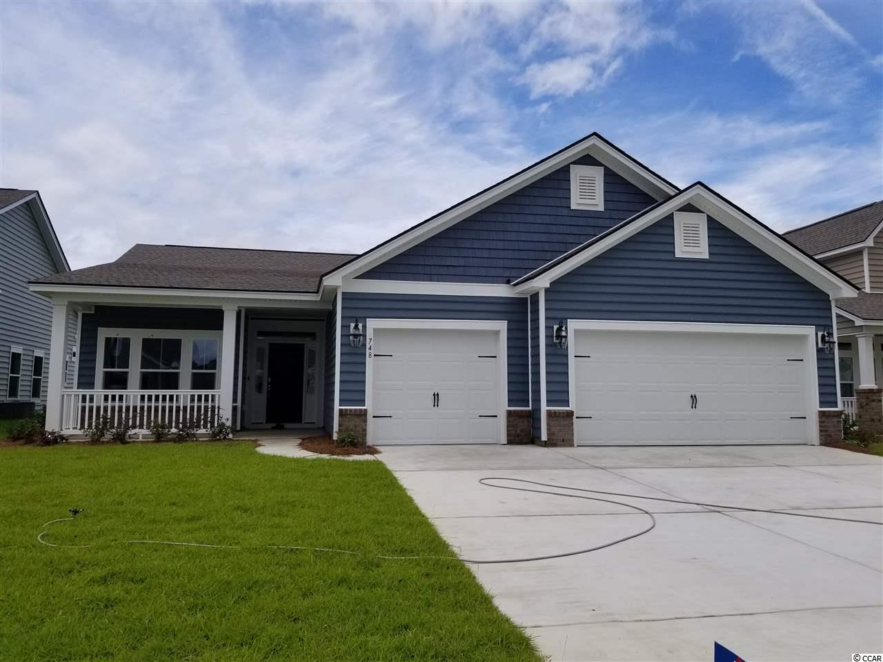 """This home will be MOVE IN READY mid-June 2020... The Muirwood is a fabulous new floor plan!  It has 2028 heated sq. ft. and is the perfect home for entertaining.  As you enter, the formal dining  room is open to a 21 x 21 family room.  The kitchen features lots of counter space, a breakfast bar and walk-in pantry.  The beautiful owner's suite features a large walk-in closet and a master bath which includes a linen closet and walk-in shower.   There are two additional bedrooms, full bath and a three car garage.  The homes at Forestbrook Estates include upgrades like tile and laminate flooring, granite countertops in the kitchen, GE stainless steel appliances including a gas range, built-in microwave and dishwasher. Also included is upgraded cabinetry with 36"""" and 42"""" staggered maple cabinets, Tankless Rannai hot water heater and much, much more!!           **Photos are of the Model home."""
