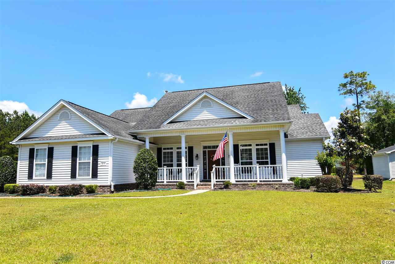 "Looking for a one level house in the desirable Prince Creek Area of ""The Bays""?  This single level house has been completely updated with new granite counter tops, hardwood floors in living room, office, playroom, and master bedroom.  The spare two bedrooms, dining room and kitchen have newly installed laminated vinyl plank flooring.  Other upgrades include shiplap bar and accent wall into dining room, entire house repainted and stainless steel appliances.   The house sits on a beautiful corner lot in Laurel Bay.  A brand new concrete pad was just poured out back which is 16 x 32.  Plenty of room to put patio furniture, large grill, lounge chairs etc.  An additional parking pad was also just poured on the side of the garage to allow extra parking.     The community of The Bays offers two pools, tennis courts, playground, basketball court, outdoor grilling area and a huge community center.   Do not miss out on this very nice house in a great location."