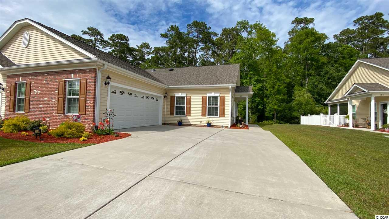 Fantastic opportunity to own this like new semi-detached 3BR/2BA home with 2 car garage in the Intracoastal Waterway community of Riverbend.  Unit is the White Oak model that features hardwood & ceramic tile floors, granite countertops in the kitchen, vaulted ceilings, and much more.  Relax on your screened porch and enjoy the wooded area behind you to give you great privacy.  Riverbend offers a community pool, a boat dock, and wonderful views of the Intracoastal Waterway.  Square footage is approximate and not guaranteed.  Buyer is responsible for verification.