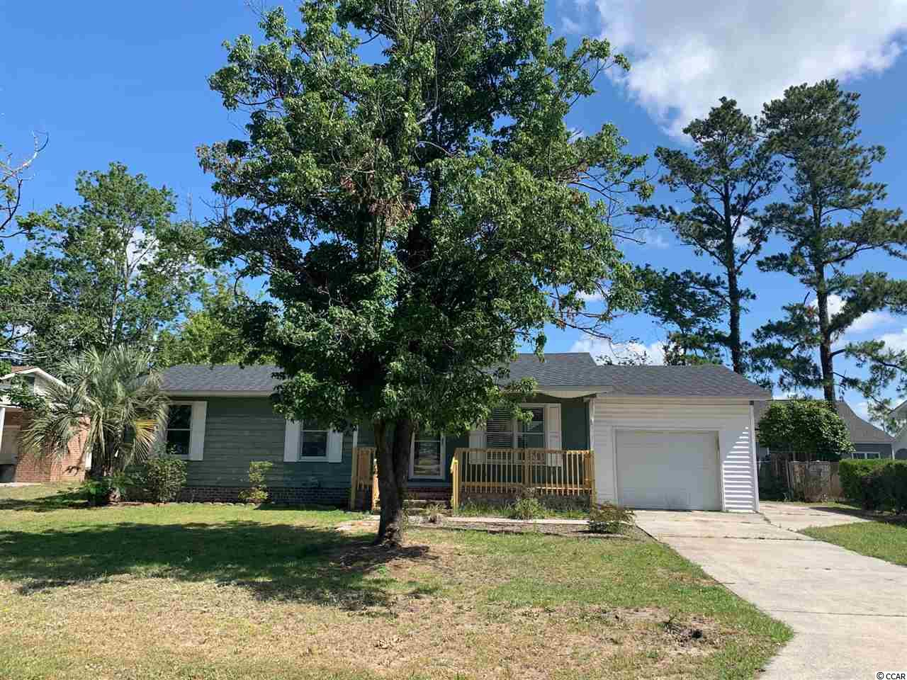 Nice home in small subdivision with no HOA fees.  Great location for primary or investment home.  New roof recently installed, large back porch, one car garage.