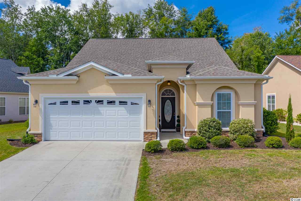 HEY! Have you been considering relocating or purchasing a home here along the Grand Strand located within a gated, golf course community ? Maybe even adding some waterway and a community pool, why not gated as well..?? Don't want to spend LOTS of money on brand new construction, yet you don't want anything too old, right? YES, we know the feeling! Welcome to 475 Pomo Drive Myrtle Beach, South Carolina situated in the Arrowhead Grande (gated, golf course, waterway) community located in the Forestbrook District (western myrtle beach) less than 15 minutes inland to the beautiful beaches of the Grand Strand, Coastal Grand Mall, MYR International Airport, Award Winning School Districts, Top Ranked Golf Courses, Hospitals, Shopping Dinning AND MORE! WOW. Now onto the home.. this beautifully custom built home was constructed in 2014 and is being offered by the original homeowners. Situated on a private lot backing up to woods and behind the woods is Arrowhead Golf Course. This home is UPGRADED throughout and shows in person just like the photos, stunning! 3 Bedrooms and 2.5 Bathrooms all on single level living. Unique to this home and design is a flex room/space which can be converted to whichever you'd use the most (formal dining room, office, reading room, gym , playroom .. the opportunities are endless).  HUGE ceilings make this already open plan feel even larger. Large oversized master bedroom with large bath and even larger walk-in closet :-)  More good news..All of the kitchen appliances and washer/dryer convey with the sale of the home for the new homeowners!  Enjoy those beautiful coastal mornings and evenings and relax on your screened in porch and patio. Arrowhead Grande offers its Homeowners gated security along with on site community pool as well as some stunning beautifully designed custom homes. Also unique to this community is the floating day docks that are accessible to the owners on the intracoastal waterway! Do you need more information on this home, VIR