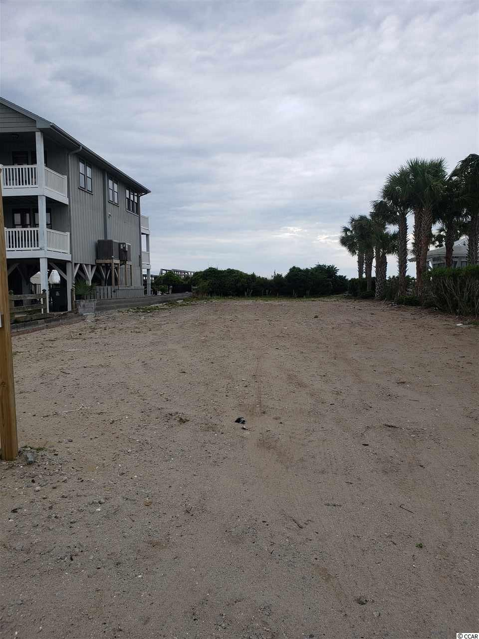 Residential oceanfront vacant lot on the best stretch of sand on the Grand Strand. Lot has been cleared and ready for your new home.