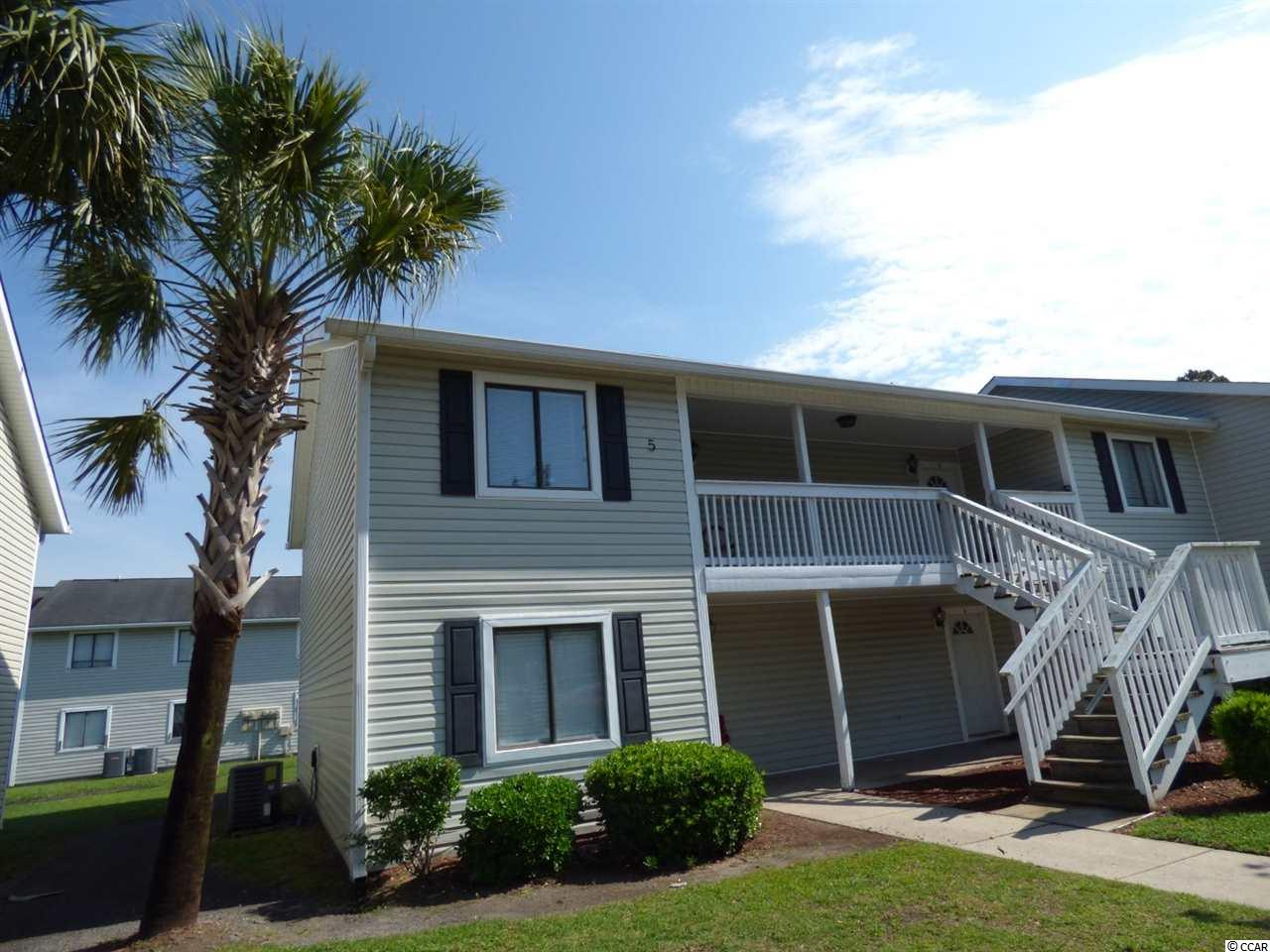 Great investment opportunity located at Coastal Villas next to CCU. This 2 Bed/ 2 Bath 2nd floor condo has large bedrooms, that have their own its own full bathrooms. This condo has a full kitchen with a breakfast bar. There is a full living room with a dining area. Coastal Villas has an onsite pool and laundry facility.  The location is perfect for a CCU student since Coastal Villas is within walking distance to the campus and local restaurants. It is also just a short drive to any of the local beaches, restaurants, and any of the many golf courses.