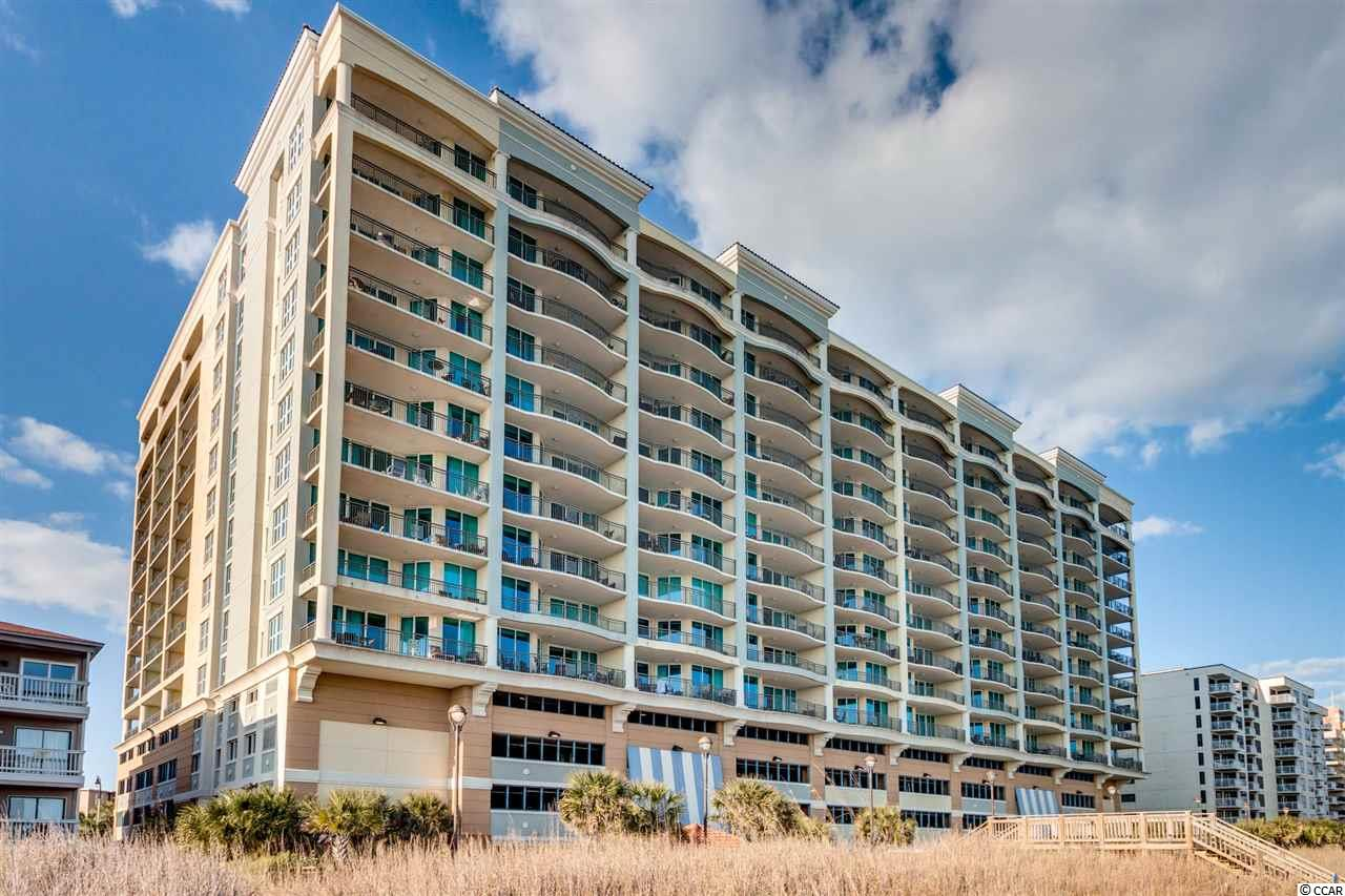 Fantastic Luxury Oceanfront MarVista Grande Resort in North Myrtle Beach! Targeting 2nd Home Owners and Primary Residents - Get Into This Premier location in North Myrtle Beach while you have an opportunity! Note: The direct oceanfront units at MarVista Grande are all just 3 bedrooms with much smaller balconies whereas these 4 Bedroom 3 Bath units have a Sprawling floorplan with multiple Oceanview balconies and the best news is this 4 Bedroom oceanview unit is priced 30+ percent less than the 3 bedroom units!!! This is the only 4 Bedroom 3 Bath condo listed at this time - And it is larger than many houses in the area! Three of the bedrooms have private bath access, making it a fantastic place for large/extended families and guests to enjoy the beach together!! New carpet, appliances, bedding, furnishings, HVAC, window treatments...the list goes on - there's literally nothing else for you to do but Enjoy!!! For the buyer looking to have the most high-end, luxury primary or secondary residence at the beach with all the luxuries and amenities one could ask for...to the buyer looking for an investment property in a resort that is maintained at the highest standard for owners and guests alike - this is The One! You've got to see this to truly appreciate it! MarVista Grande has 4 banks of high speed elevators, interior corridors, indoor and outdoor pools, owner storage lockers, and on the 5th floor, known as the Club Level, where this unit is located, you will also find  an exclusive Homeowners Lounge with big screen TV, fireplace and comfy seating, as well as a world class fitness center and spa, and an outdoor plaza! Pursue the dream to have your own luxurious beach home now!