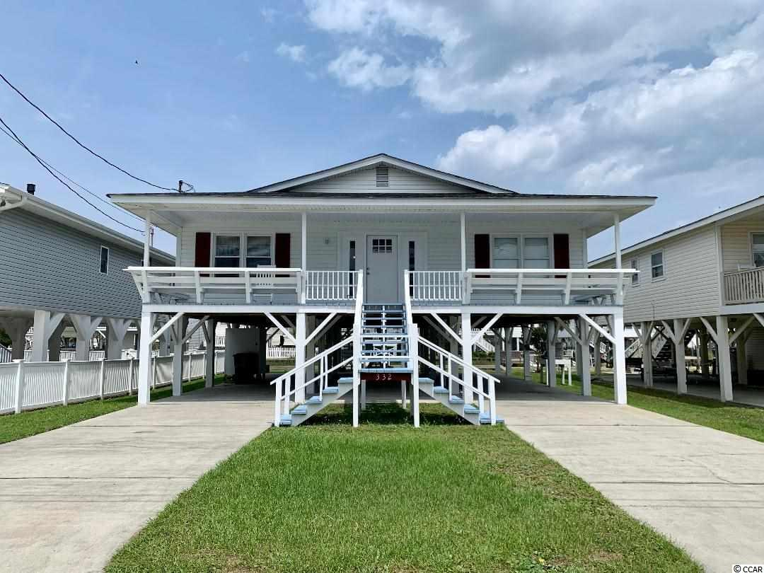 Immaculate Raised Beach Home Just A Short Walk From the Ocean. This Raised Beach Home Is Located On The Channel In The Heart of Cherry Grove. With Only A Short Walk or Drive to All the Attractions, Dining, and Shopping North Myrtle Beach Has To Offer. For The Saltwater Fishermen This Is a Sportsman's Paradise Located at the end of the channel For Easy Access To Hog Inlet With The 53rd AVE Boat Ramp Right Around The Corner. Plenty of Parking Underneath The Dwelling and In the Driveway Area For Your Large Family Getaways! Call Today For Your Private Showing!