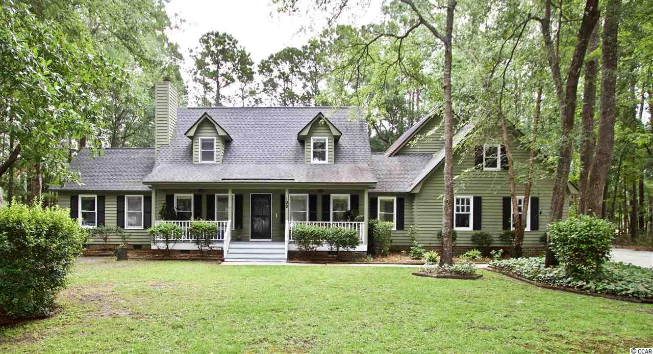 Do you want to have your cake and eat it too? This Lowcountry Charmer on a large lot embraces the Beach Lifestyle.  Boasting a gourmet kitchen, heart pine flooring, a master suite that wows, coupled with subtle touches of charm and character...this home is set to impress! Adding to the setting of this home is mature landscaping, a private fenced backyard, rocking chair porches, and a fire pit all set on a large lot at the end of a tranquil cul-d-sac in a highly desired neighborhood! As an additional bonus the neighborhood has a park, walking trail, and boat storage!