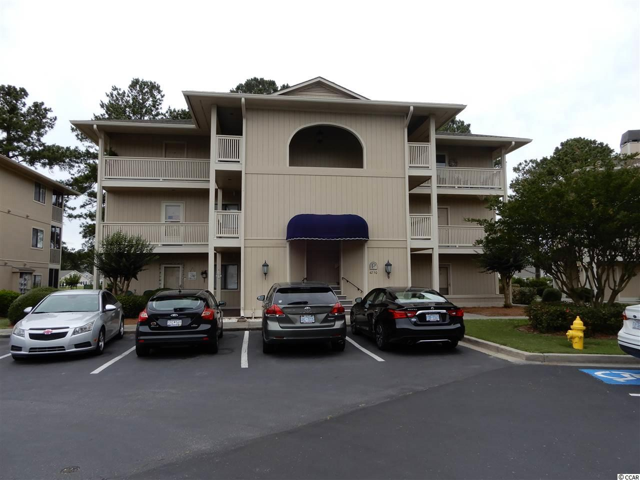 Cypress Bay in Little River, enjoy this cute and cozy two bedroom and two bath condo in the heart of Little River.  Top floor unit with vaulted ceilings and views of trees and pond.  Seller has updated floors through out, vanities, toilets, mirrors, wood floors, carpet.  Furnished and nicely decorated.  Close to all golfing, restaurants, shopping and the beach.
