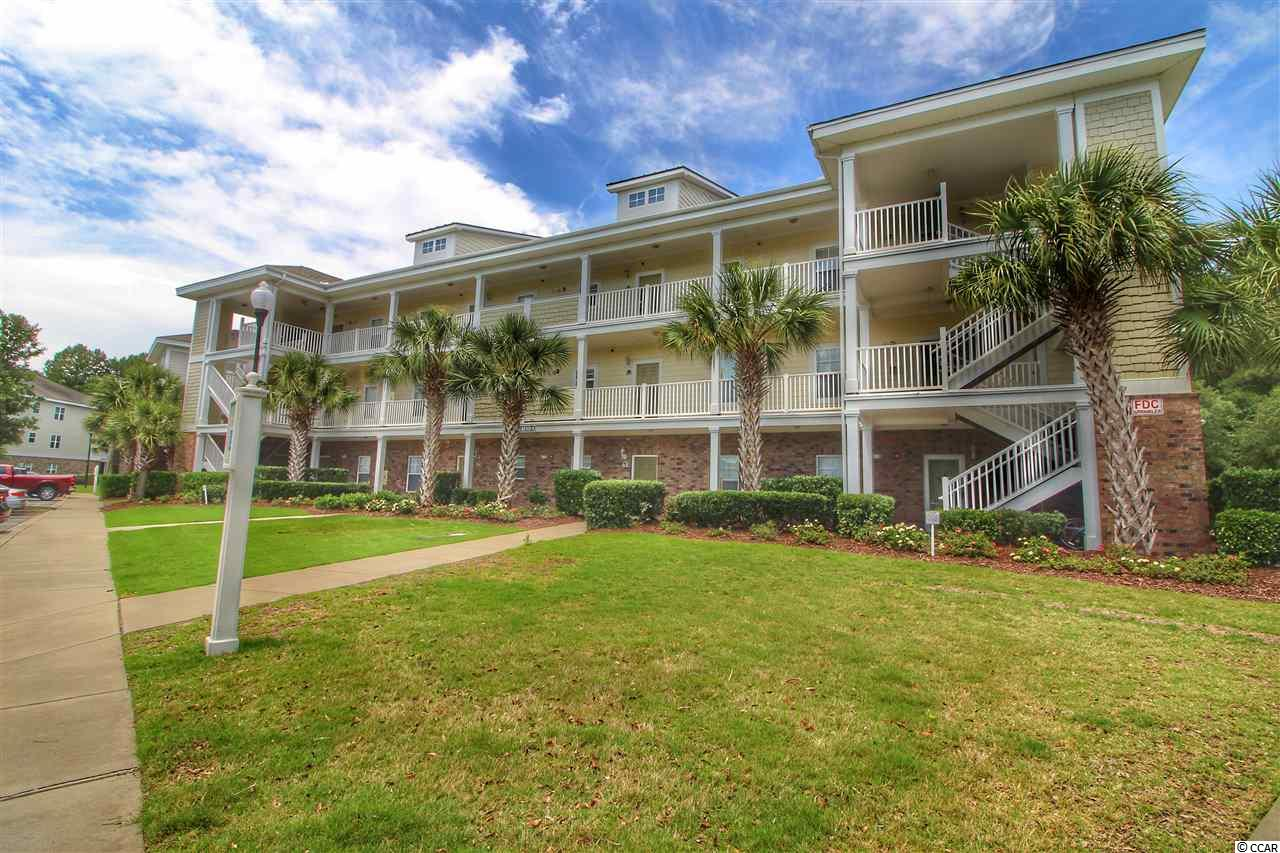 This beautiful condo is located in the newest golf villas sub division Willow Bend in prestigious Barefoot Resort. The unit is tastefully decorated and comes fully furnished down to the pots and pans. The units offers 2 bedroom and 2 baths with an open floor plan in the Kitchen, dining, and living area. You can work in the kitchen and still have conversations with your guest. The kitchen is very large with tons of cabinets and countertops. The dining room and living areas are also ample. Just off the living area is a large private screened balcony great for just relaxing and entertaining. The master suite is in the back of the unit offering quite and privacy. You will love the easy access to the community pool with it just across the street. The HVAC and Hot Water heater have been replaced. The unit is rented by the owner and is on track to do very well this year. The HOA dues is one of the best deals in the entire Myrtle Beach area offering Wireless Internet, cable TV, phone service, Insurance, water and sewerage, maintenance on the building, landscaping, trash pickup, community pool, membership in Barefoot Beach Cabana offering shuttle service to and from the ocean from Memorial Day to the end of October, and use of a 15,000 square foot swimming pool directly on the Intracoastal waterway. Barefoot Resort amenities also offer 4 of the best golf courses in all of the Grand Strand designed by Pete Dye, Tom Fazio, Greg Norman, and Davis Love. There are two multi-million dollar club houses with full service restaurants to enjoy. There is also a marina offering boat slip, jet ski and boat rentals. No other resort offers so much. Come live the Barefoot Resort lifestyle.