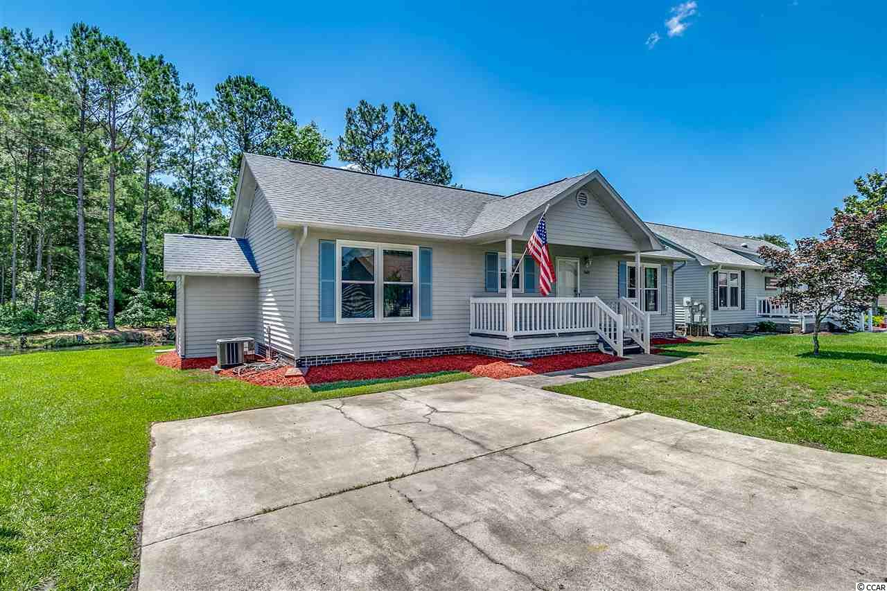 This well maintained home is in the Gated 55+ community of Spring Forest.   The community offers a great location in close proximity to Garden City Beach and the delicious restaurants along the Murrells Inlet Marshwalk.  The HVAC system is just 18 months new and the roof had been replaced in 2012.  Add this home to your short list of properties because you will be happy that you did.  Not to mention the gorgeous view of the water outside the backdoor.