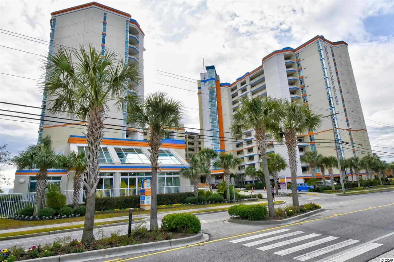Welcome home to this fully furnished, oceanfront efficiency unit in the highly desirable, Dunes Village Resort. This unit offers a kitchen with full size fridge, range, microwave, and dining area, with 2 upgraded flat screen TVs. Enjoy the beautiful views of the ocean and the pools from your balcony! Dunes Village Resort has award winning amenities that include an indoor waterpark featuring multiple waterslides, a lazy river, hot tubs, pools, water volleyball, water basketball, kiddie pools and more. There is something for everyone in the family including tennis courts, basketball courts, an arcade, fitness center, full service restaurant, seasonal poolside cafe and Starbucks coffee shop. Located just north of Myrtle Beach's Golden Mile and close to everything the Grand Strand has to offer--dining, entertainment, shopping, golf and more. Whether you are looking for a permanent residence, a vacation get-a-way or an investment property, you won't want to miss this one--Schedule your showing today!
