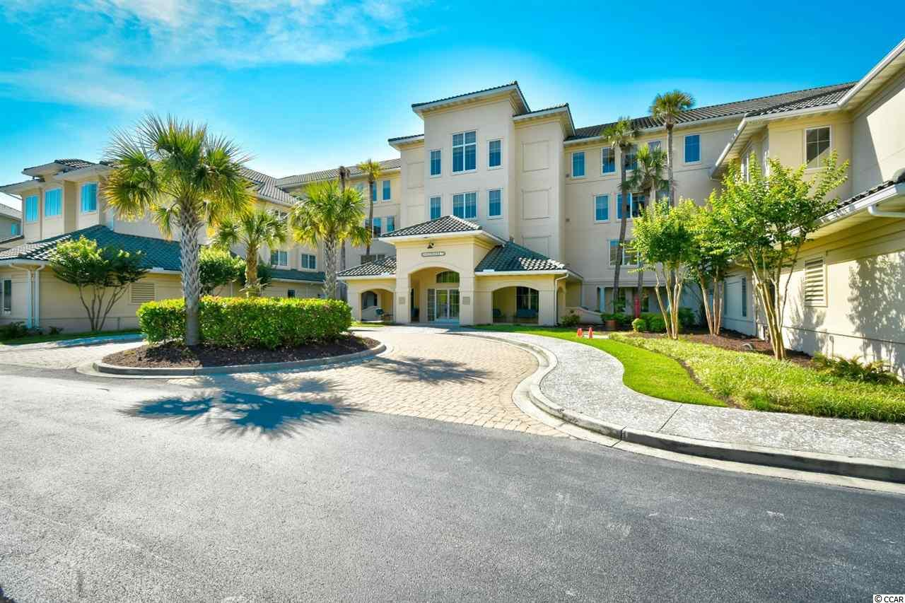 Welcome home to this 3 bedroom, 2 bathroom condo in Edgewater at Barefoot Resort. This unit is fully furnished and ready for you to move in or start renting. The kitchen features plenty of cabinet and counter space, and a breakfast bar with separate dining area. The master bedroom features tray ceilings and 2 walk in closets, while the master bath includes double sink vanities, recessed lighting, and a jetted bathtub. The remaining two bedrooms are very spacious and include ceiling fans, plenty of closet space, and easy access to the second bath. Enjoy the view of the waterway from your tiled, screened in balcony with ceiling fan. Washer and dryer convey with sale for even more added convenience. This unit has been meticulously maintained and never rented!  Edgewater is a gated community and includes a waterway pool, clubhouse, and fitness center. Barefoot Resort includes access to the marina, a 15,000 sq. ft. pool, oceanfront cabana, and a shuttle service from May-October. Whether you are looking for your forever home, a vacation get away, or an investment property, you won't want to miss this! Schedule your showing today!