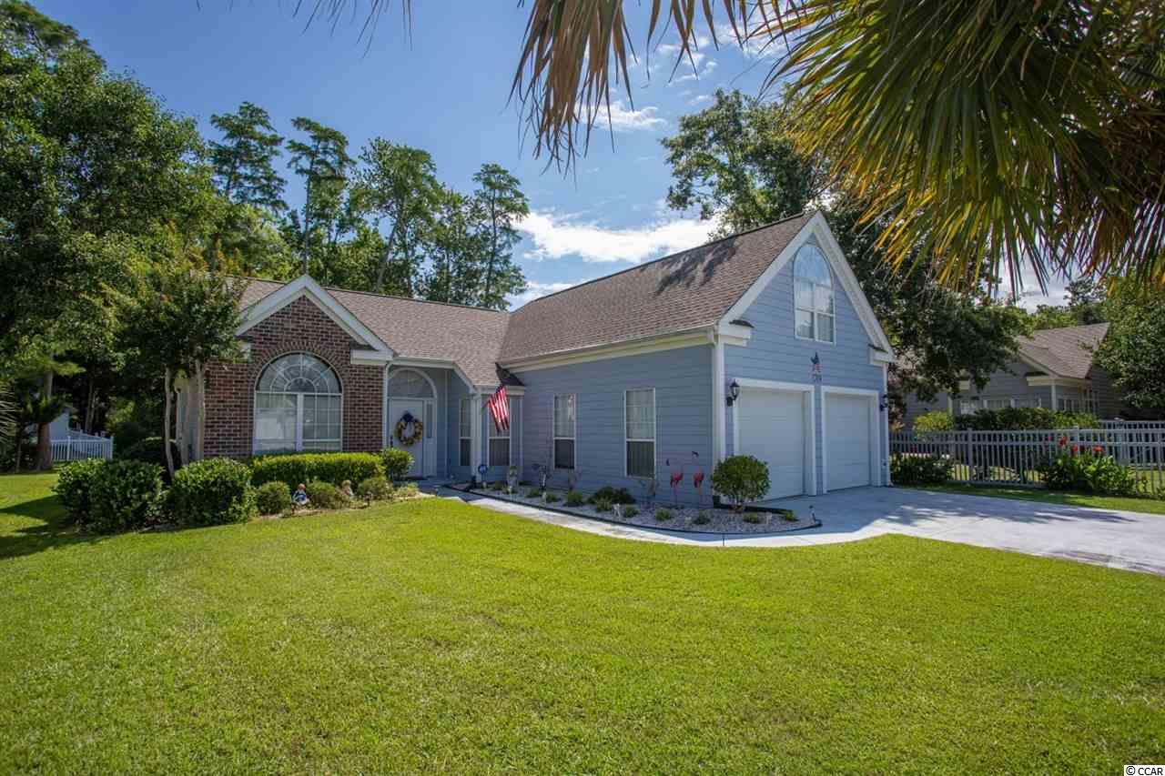 WOW! What a beautiful house! This house is Located in the well-established neighborhood of Southwood in Surfside Beach and is a true 3 bedroom, 3 full bathroom beauty! All interior walls have been re-painted, flooring has been replaced, and a brand new roof was installed in the spring of 2019! The master bedroom and guest room are on the 1st floor with an additional bedroom and full bath above the garage just off the kitchen!  Pictures do not do justice for this home. Schedule your appointment today and see it for yourself!