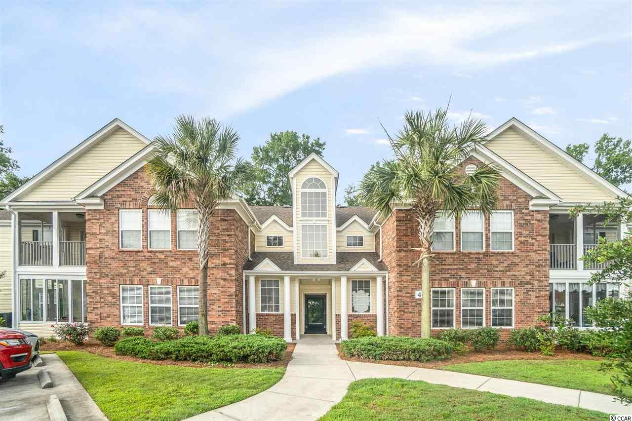 This first floor 3 bedroom and 2 bathroom condo is nestled in the heart of Murrells Inlet. The property features a spacious layout. The master suite  has 2 walk in closets and the master bathroom has a separate shower and  garden tub. Additionally, the unit has a walk-in pantry, washer and dryer, and a private screened-in porch surrounded by greenery. It has been completely updated with stainless steel appliances, luxury vinyl plank flooring throughout, granite counter tops, new light fixtures, and more! Sterling Pointe is a peaceful community that is impeccably maintained with a community pool. The condo is located just over one mile from the MarshWalk, less than ten minutes to the Wacca Wache Marina, and a short drive to Huntington Beach, Garden City and Pawleys Island. Square footage is approximate and not guaranteed. Buyer is responsible for verification. Seller is licensed SC real estate agent.