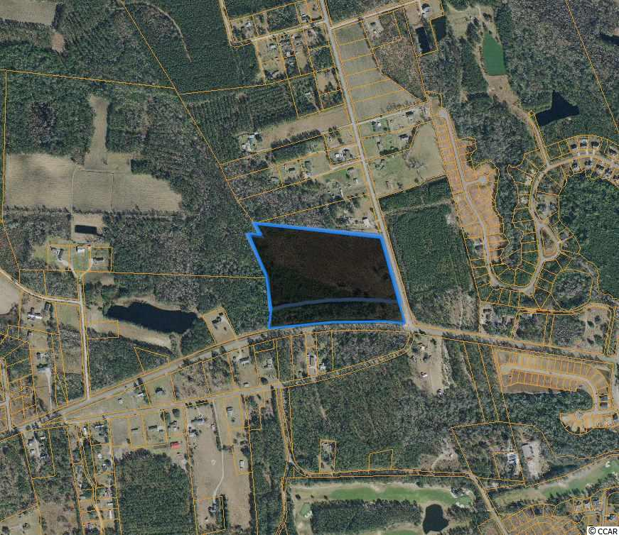 23+ acres of LFA land at a very high traffic intersection close to Hwy 22, Downtown Conway, and Myrtle Beach.   +/- 2000 feet of highway frontage  Hwy 905 traffic count from 2019 was 6500 in this area.   All measurements and features are approximate and not guaranteed. It is the responsibility of the buyer to verify.