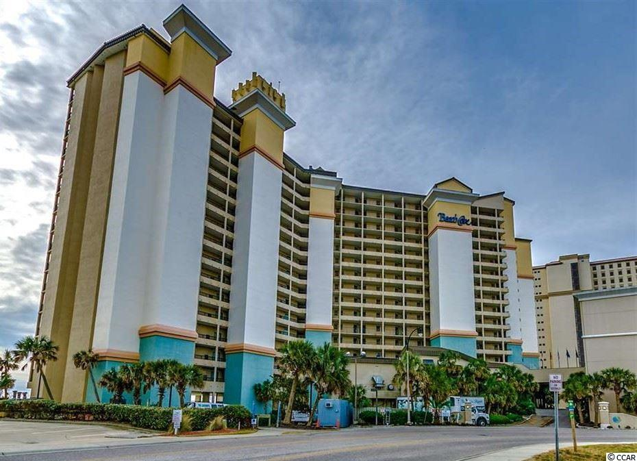 Beautiful 1BR 1 BA condo located in the popular Beach Cove Resort! Sold fully furnished, with 2 queen beds and a sleeping sofa, the unit sleeps 6 comfortably. This condo was professionally decorated to be a perfect oceanfront getaway and has new HVAC system and Water Heater.  Tropical outdoor pool deck, heated outdoor pools, whirlpools, indoor pool, 350 ft. lazy river, sauna, racquetball court, exercise room, business facilities and free wi-fi. Enjoy a breakfast with ocean views at the on-site Tradewinds Cafe. Game room on the lobby floor, in the newly added Town Center.