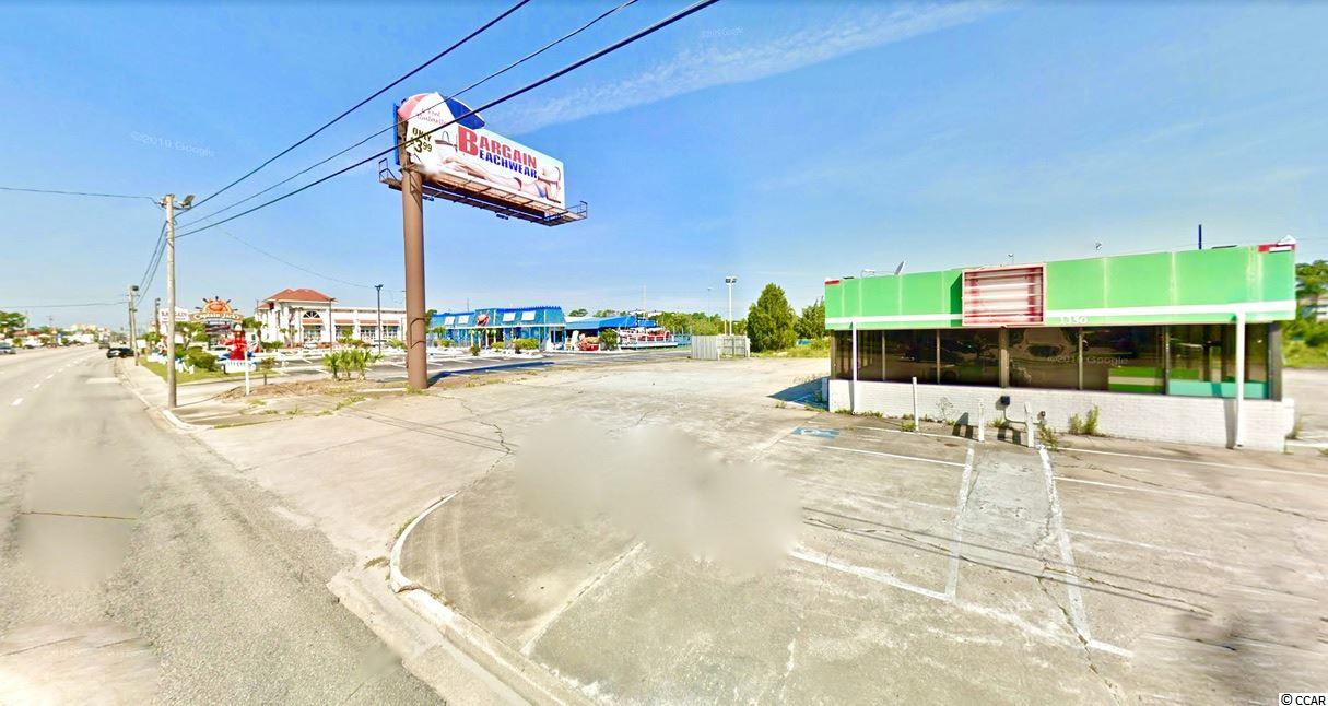 Location is phenomenal. Huge traffic count. Tremendous visibility. 2 Curb cuts for great accessibility. 185ft of frontage on 17. The Krispy Kreme next door is one of the highest volume restaurants in all of North Myrtle Beach. Now is the perfect time to claim your piece of one of the fastest growing areas on the grand strand.   Huge Extras.  Rights to billboard included with property. This is a valuable asset that can be utilized a number of lucrative ways. Ask about the estimate of value.  The property may also qualify for a significant tax credit to the future owner. We can connect you with experts to explain how it works and how much it means for you as the new owner. Make sure to inquire and understand how you can get well over 6 figures of additional value back in your pocket - on top of the value of the property itself!