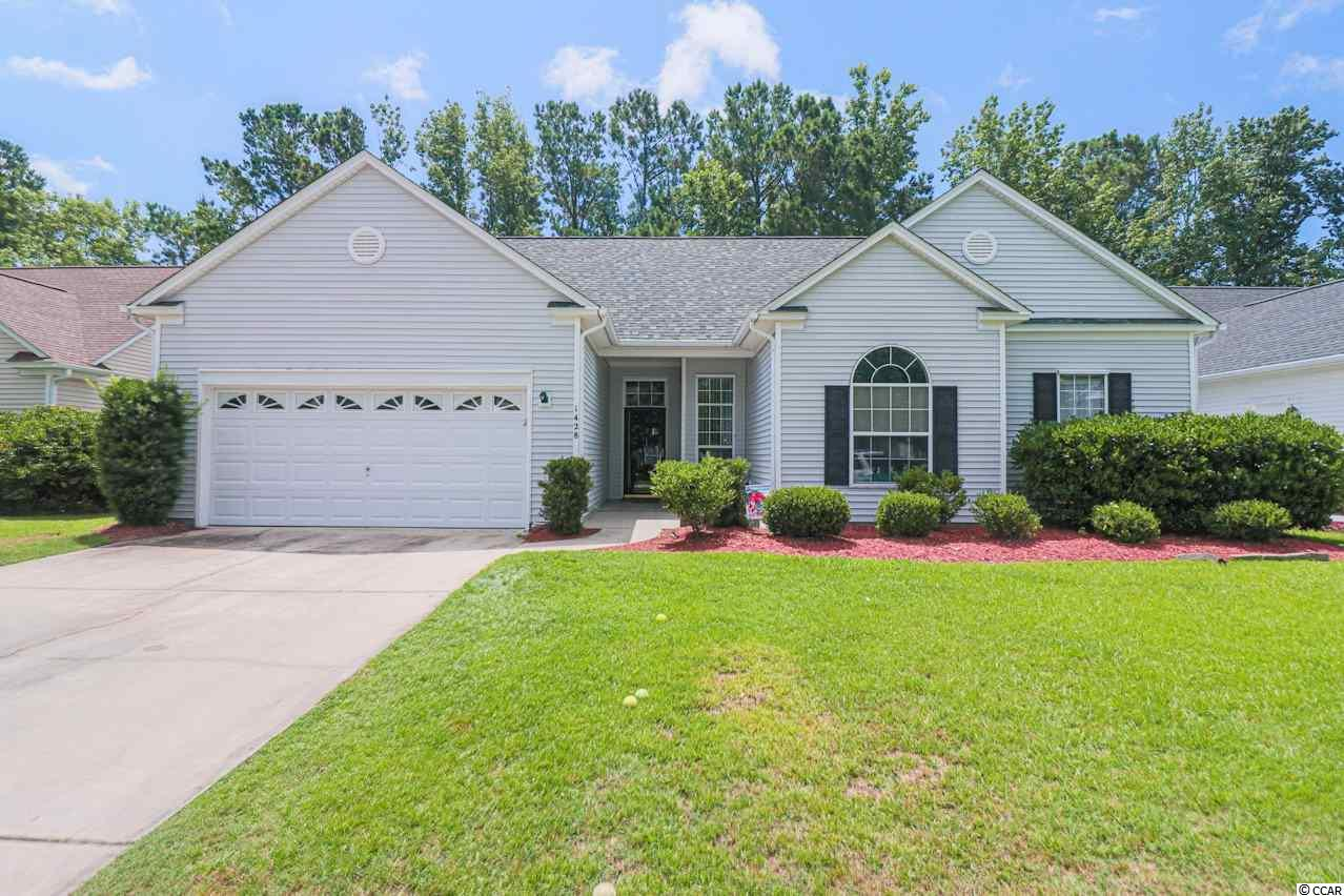 This lovely family home located in the wonderful neighborhood of Indigo Creek features a bright and beautiful floor plan. The spacious kitchen features a pantry, a breakfast area, and plenty of counter space plus an open living area with lots of natural light coming in through the vaulted Carolina room! The comfortable master suite boasts a large walk-in closet and an impressive master bathroom! You will enjoy the relaxing whirlpool hot tub in the screened porch overlooking the peaceful backyard setting!