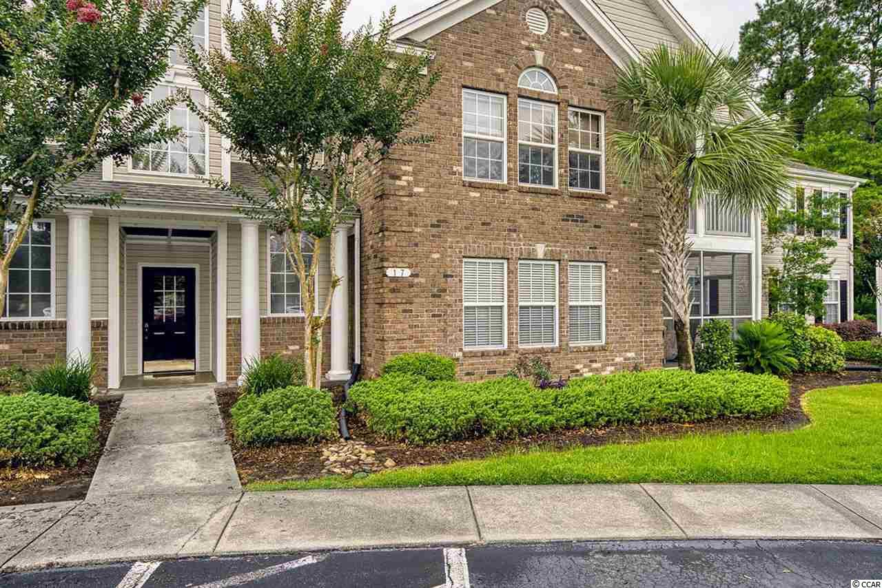 This meticulously maintained first floor condo is conveniently located in the Winchester section of the beautiful gated golf course community of Wachesaw East, in Murrells Inlet, South Carolina.   This unit features an open concept, screened in porch, three bedrooms and two full bathrooms.  Located just ten minutes to many popular destinations including Huntington Beach State Park, Brookgreen Gardens and Murrells Inlet Marsh Walk; the options for entertainment and conveniences are endless.  Schedule a showing today!  Measurements are approximate and not guaranteed.  Buyer to verify.