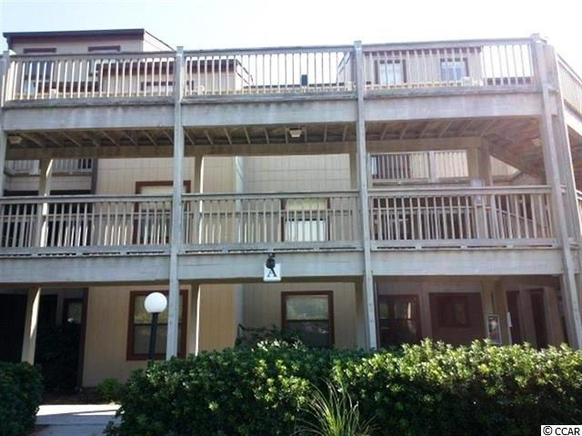 Escape to the beach and relax in this ground floor condominium home in Dunes Pointe.  Partially furnished and ready to be enjoyed as your beach getaway, vacation rental or even home sweet home!  Here is your chance to own a FIRST FLOOR unit in the highly sought after community of Dunes Pointe, just off Shore Drive in the Arcadian section of Myrtle Beach.  This condo is being sold furnished with a few exceptions listed in the docs.   Sliding glass doors off the living/dining room lead to a beautiful screened in patio that overlooks beautiful gardens.  This unit is also conveniently located right around the corner from the large outdoor swimming pool.  Located just three blocks from the beach.  dunes Pointe has amenities that include indoor/outdoor pools, indoor/outdoor hot tubs, tennis courts, a clubhouse sitting area with grills and an oceanfront private cabana, with private restrooms - and owners are allowed to have golf carts!  Dunes Pointe is located near shopping, restaurants, golf, entertainment, and walking distance to the Atlantic Ocean.  This condo is move-in ready and priced to sell - Don't miss out on this opportunity!