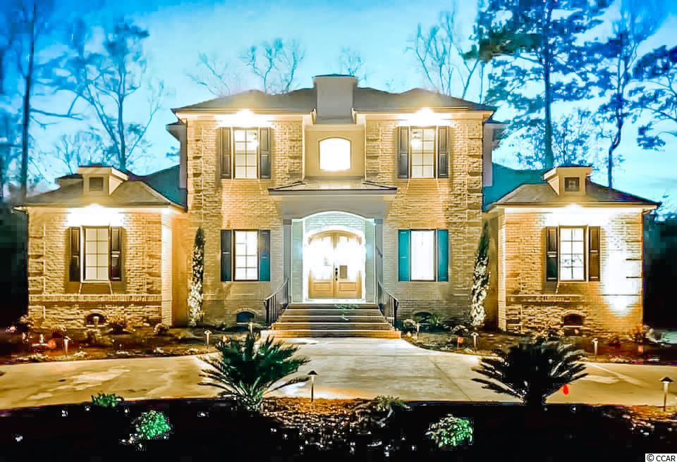 Rare opportunity to own an all brick custom built home in the luxurious Dye Estates waterway community of North Myrtle Beach. This home is under construction and estimated to be completed late November 2020. Buyer has the opportunity to choose colors, flooring, etc if bought prior to interior framing completion. This is a low country plantation style home that will blow you away. 22 foot high diamond coffered ceilings are the main feature throughout the main living space that give it an open concept feel. Some other planned features include triple coffered ceilings in the master bedroom, exterior wood beams in bedroom 2 (can be used as office), an oversized 10x12 foot walk in closet in Master Bedroom, an 11 foot custom built iron front door, a luxurious dual entry marble shower in the master bathroom, a 10x6 foot kitchen pantry, and an oversized covered lanai that continues into open concept outdoor living space. Fully equipped with stainless steel appliances, the kitchen offers a gas range top stove in addition to a huge walk in pantry! Set within Barefoot Resort & Golf, you will also enjoy a private beach cabana with gated parking and seasonal shuttle service, a 15,000 square foot pool on the marina, 4 championship golf courses with 2 multi-million dollar clubhouses, driving range, eateries and more!  All measurements and acreage are approximate and not guaranteed. buyer is responsible for verification.