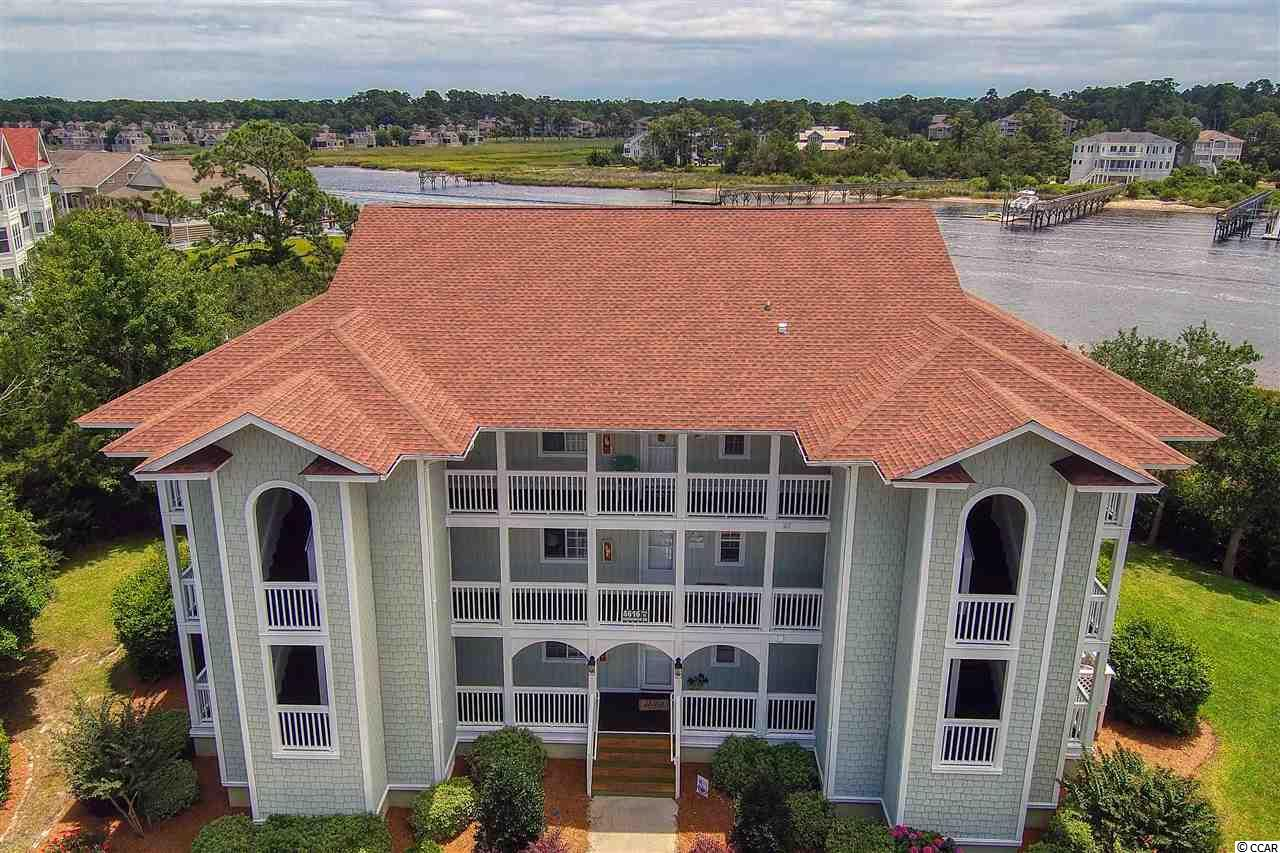 VIEWS! VIEWS! VIEWS! Panoramic views of the Intracoastal Waterway from this 3rd floor end villa in Spinnaker Bay!!  This 2 BR/2 BA mostly furnished condo boasts an open floor plan; additional living space with an enclosed Carolina Room with access from living area and Master bedroom; and plentiful storage to include linen closet, kitchen pantry, and outside storage. Spinnaker Bay is located within the Eastport community in Little River and is just minutes to restaurants, marinas, medical facilities, shopping, golf, and the historic Little River waterfront.  Amenities include a Spinnaker Bay pool and Eastport pool and clubhouse.  The Valley @ Eastport golf course is located on the Eastport property.  The views do not get any better!  This will not last long!  Measurements are approximate and not guaranteed.  Buyer is responsible for verification.