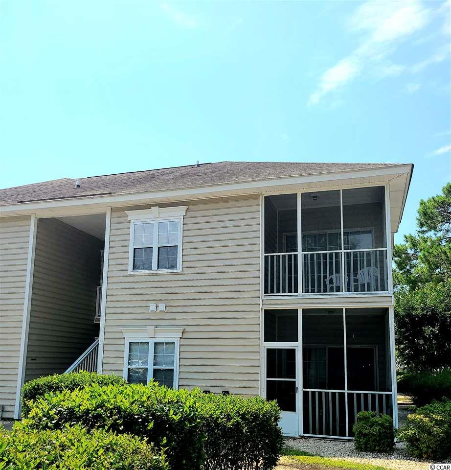 2 bedroom 2 bath corner unit condo in convenient location being sold mostly furnished. Multiple swimming pools and a tennis court. Just a 3 mile drive from the Garden City pier & the beach. 7 miles to Market Common & the airport. 8 miles from Brookgreen Gardens. Convenience at your fingertips!