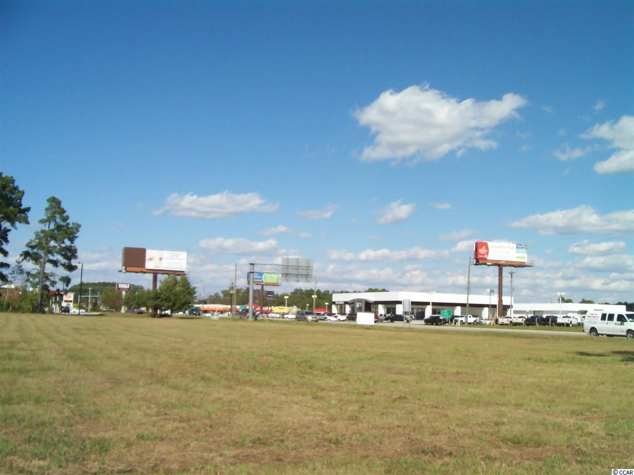 With over 300 feet of direct Highway frontage with two curb cuts on Hwy 9, just East of  CVS - this 1.8 acre site is cleared and ready for immediate use.  Site may be subdivided with approved user, but owner would prefer single tenant.  Great area for fast food or retail.  Join Goodwill, Bojangles, Conway National Bank, Bell & Bell GM/Buick, CVS, and N. Strand Nissan at this great commercial location. Acreage is approximate and not guaranteed.  Lessee is responsible for verification.