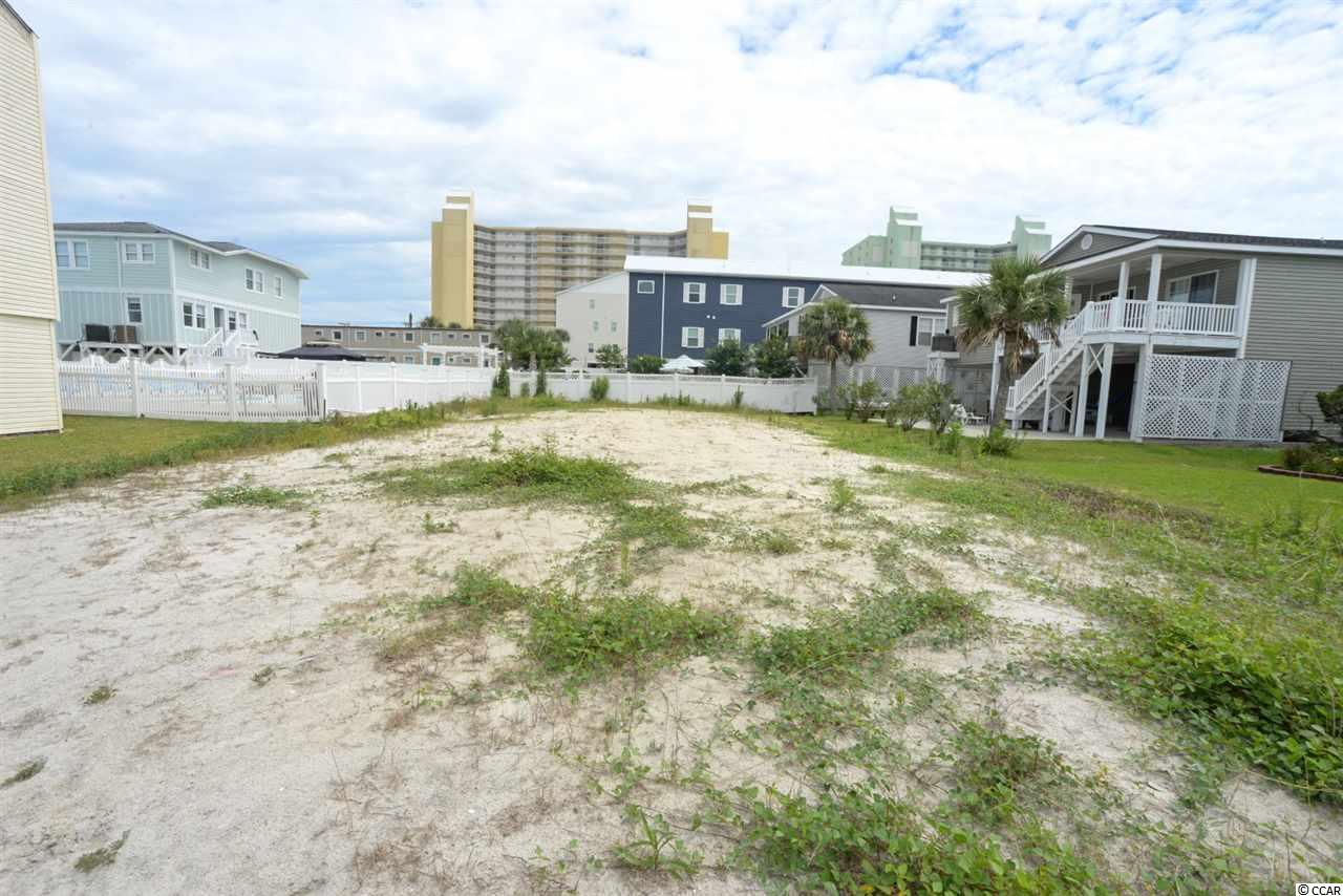 Great lot in the Cherry Grove section of North Myrtle Beach, just 1 block to the beach with great views of the channel. These lots don't come up very often so still get it while you can. Just a short distance from the public boat ramp and nature preserve. A great lot at a great price!