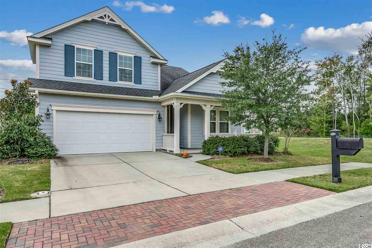If you are looking to buy the most popular floor plan in the best-selling neighborhood in Myrtle Beach, your search is over! This like new, move-in ready home is located in Market Common, the best address on the Grand Strand. The shops, restaurants, movie theater, grocery store, recreation center, and parks are right down the street. Myrtle Beach State Park and the sandy shores of the Atlantic Ocean and are just a short golf cart ride away. Emmens Park with its outdoor kitchens, fire pits, covered area, golf green , bocce courts, and more are in the neighborhood, as is the resort pool and amenity complex with the new clubhouse.  Best of all you will be living in a neighborhood with a real sense of community and fellowship. Lastly, this home backs up to a protected area that can't be built on.  Call today for more information, and see this home before a great opportunity slips away.  Bonus room is being used as 4th bedroom.  It has a walk-in closet, and a full bath, but no door to stairway.