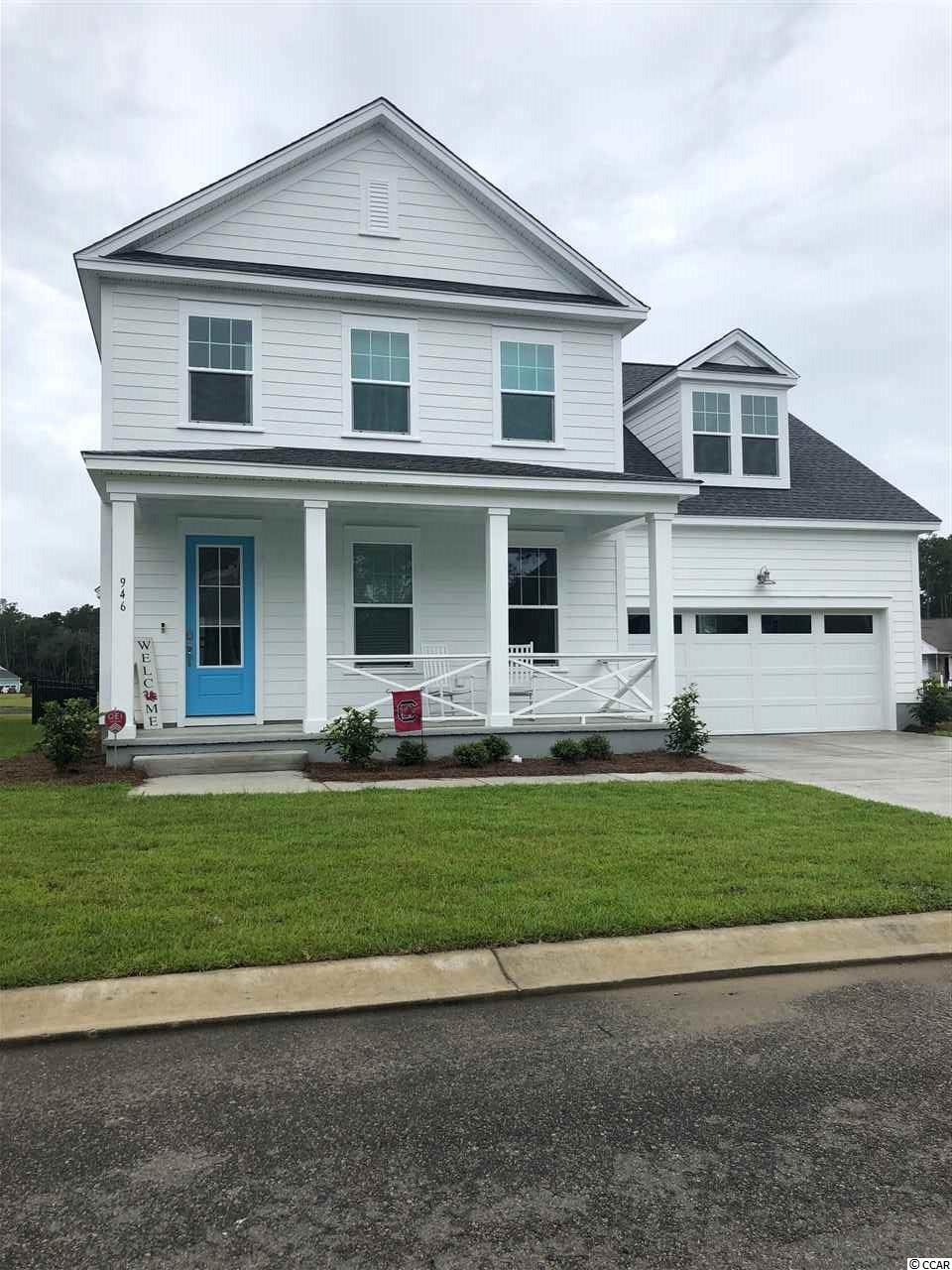 This popular Pritchard Plan offers four bedrooms and two full baths, and one half bath.  Design features are extensive and a must see! Longwood Bluffs is located in Murrells Inlet and part of the Prince Creek Master Planned Community. Offering natural gas, this community is conveniently located approximately 5 miles from the ocean, 3 miles from Murrells Inlet Marshwalk for boating, restaurant, fishing, local events, & relaxing. Brookgreen Gardens is 8 miles away, and retail and grocery shopping only a short drive. Don't forget the nearby award-winning PGA TPC Golf Course where you can golf or just dine for breakfast or lunch with spectacular golf course views. Homeowners have access to the Prince Creek West Amenity Center (The Park) where they can enjoy the fabulous nature trail, kiddie pool, tennis courts, playground, outdoor covered pavilion with fireplace, and grilling area.