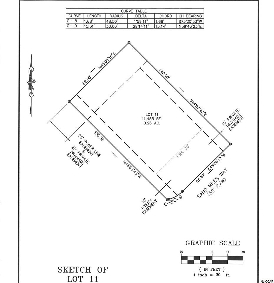 LOT IS ON THE GOLF COURSE IN PINE LAKES ESTATES