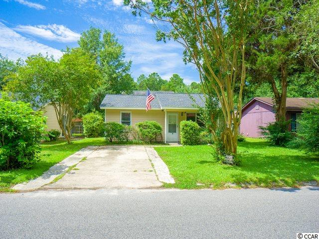 This 2 bedroom, 2 bathroom home is located in Pine Valley Estates minutes from Coastal Carolina University and HGTC with no HOA! This home features a fenced yard and a small shed for extra storage. A great investment with tremendous potential. Great fixer-upper to make your own!