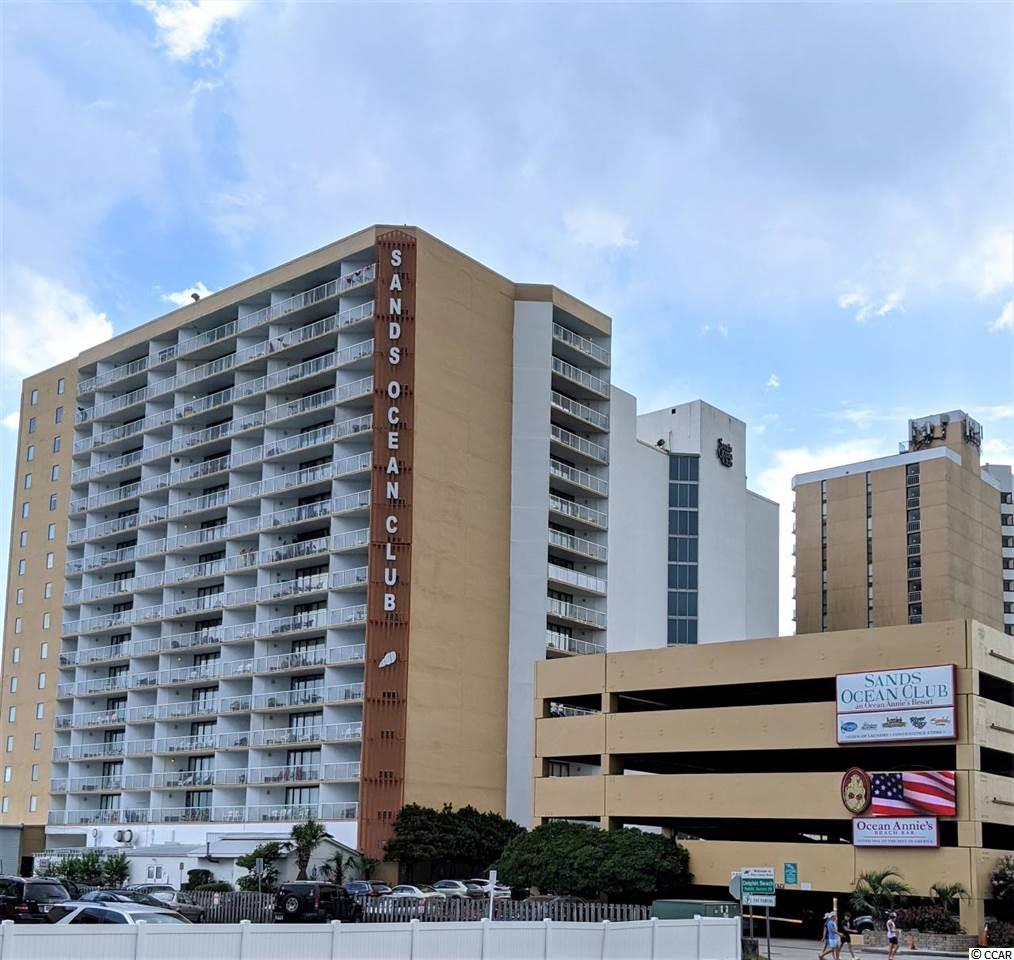 This ocean view unit has granite counters and new cabinets and new furniture too.  It is ready to enjoy or get it rented for investment.  Sands has it all indoor pool and hot tub, outdoor pool and lazy river, steps to the ocean, two onsite restaurants, shops and laundry and its own Live music beach bar Ocean Annies!  Beautiful sunrise View from your bed or the balcony.  Can provide video walk thru upon request