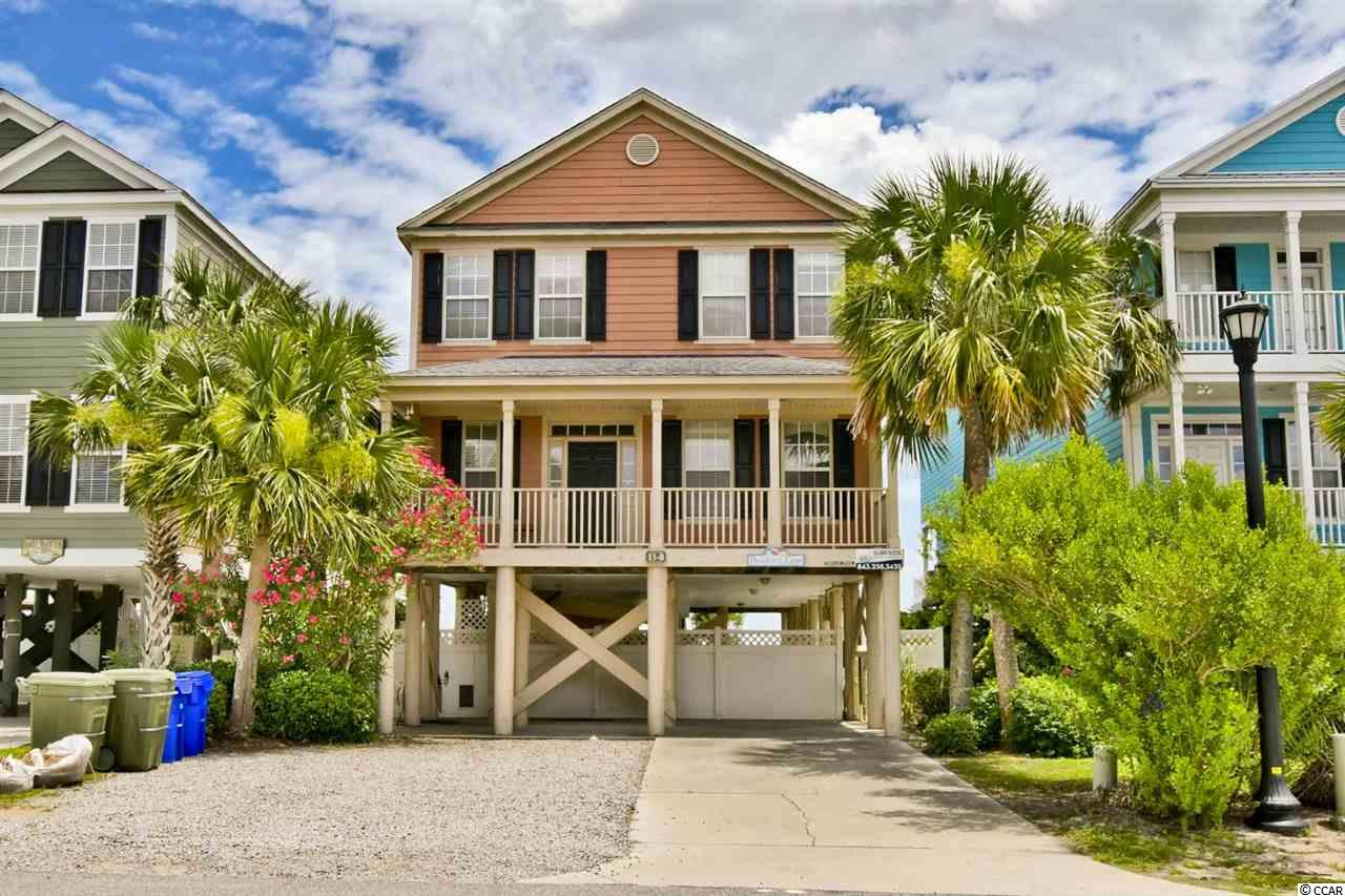 Don't miss your opportunity to own Breaker's Edge, located oceanfront in the highly desirable Floral Beach section of Surfside Beach.  Just three doors down from Surfside Pier, when you're not enjoying the stunning views of the Atlantic, you're within walking distance of Surfside Beach's best entertainment.  Featuring 6 bedrooms, 6 full bathrooms, and almost 2800 heated sq feet of living space, this is one of the largest homes on Seaside Dr N.  When not enjoying the beach from the large deck with it's own private walkway, you can hang out in the covered pool and hot tub underneath the house.  This home's size and location have made it a highly productive vacation rental for years, and also makes a perfect beach getaway for the family.
