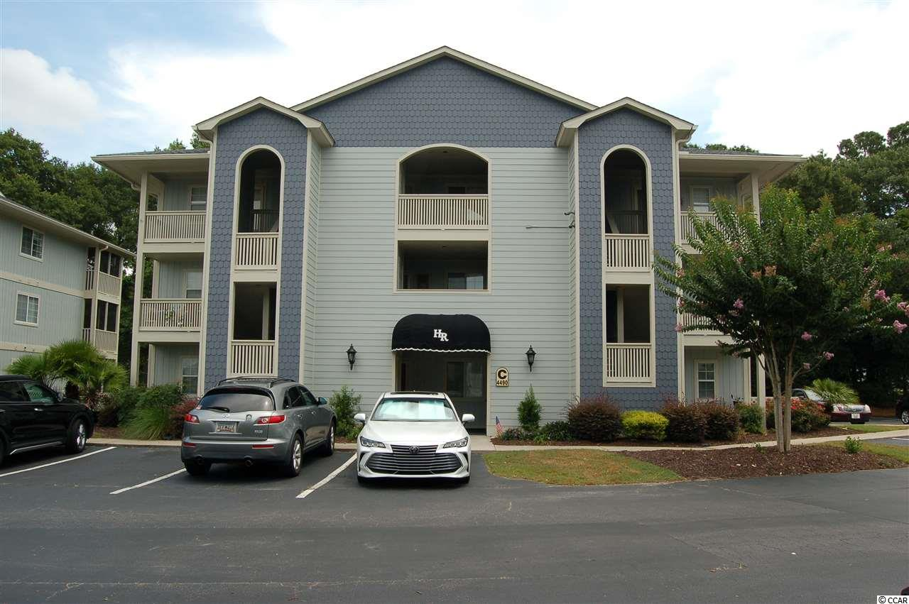 CUTE, CUTE, CUTE one bedroom condo in a very well maintained  locked gate community, that is located on the intercoastal waterway. This unit has never been rented and is move in ready. Harbour Ridge is a gated community with beautiful grounds that is close to everything the beach has to offer. Private, secure and friendly neighborhood with great views from pool and screened gazebo of the water way and lighthouse. Enjoy the breeze while you relax on the nice screened porch. You will love cooking in your kitchen with granite counter tops and new pendent light fixtures!! Also there is a beautiful back splash around the stove area. Hardwood floors and new hall lights give it a great feel when you walk in the door.This is one of the few units that have 2 over sized storage rooms right outside your door and 2 closets in the bedroom. Outside of buildings in the entire complex were painted within the last 6 months and all porches got new screens!! Call today it will not last long at this price!! Location shown under map button is not correct because of a problem with the Paragon program at this time.