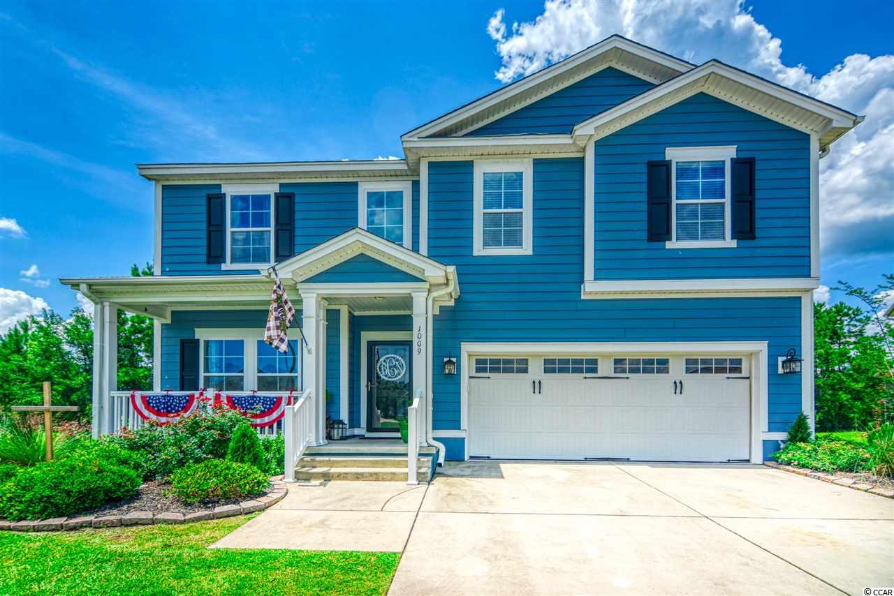 A UNIQUE COMMUNITY OF TRADITIONAL CHARLESTON STYLE HOMES BEST DESCRIBES THE SOUGHT AFTER COMMUNITY OF CREEKHAVEN @ PRINCE CREEK IN MURRELLS INLET ! Nestled on a cul-de-sac you'll find a beautiful hardy plank home with 4 bedrooms 2.5 bath and two car garage! This home has functionality and thoughtful design offering the very best in fine Carolina coastal living that can be found in the area ! The moment you step inside your eyes will be drawn to the upgrades ! BOASTING; NEW TRAFFIC MASTER FLOORING THROUGHOUT THE ENTIRE HOME and NEW BEAUTIFUL OAK STAIRCASE, NEWLY PAINTED INTERIOR IN LIGHT COASTAL TONE, NEW LIGHTING FIXTURES IN WHOLE HOUSE, RICH GRANITE COUNTERS and a OPEN KITCHEN with UPGRADED KITCHEN CABINETS and PANTRY, NEWLY RENOVATED FORMAL DINNING ROOM FRAMED IN SHIPLAP, CROWN MOLDING, VAULTED CEILINGS AND LOTS OF WINDOWS, NEW CUSTOM MADE BREAKFAST NOOK, FULLY REMODELED MASTER BATH WITH CUSTOM SUBWAY TILE SHOWER AND FARMHOUSE FRAMING PAIRED WITH A BEAUTIFUL OAK SLIDING BARN DOOR and OAK SHELVING FOR STORAGE ! Whether your looking for a vacation home, retirement home or a primary home for a growing family(Located in the award winning ST. JAMES SCHOOL DISTRICT) 1009 Elysium Ct will exceed your expectations ! Other home hi-lites worth mentioning are; FIRST FLOOR MASTER BEDROOM AND ENSUITE WITH HUGE WALK-IN CLOSET, BONUS ROOM, FIRST FLOOR GUEST BATHROOM and CUSTOM BUILT OUTDOOR FIRE PIT with SEATING AREA ! NO DETAIL HAS BEEN MISSED ! Once outside you will find that the lifestyle Prince Creek has to offer is matched by no other community in Murrells Inlet ! This eclectic community boasts sidewalk lined streets, the ability to walk, bike or golf cart to Publix or Lowes Whole foods, community events and clubs, TWO GOLF COURSES ONE OF WHICH IS TPC MYRTLE BEACH THE ONLY 5 STAR GOLF COURSE BY GOLF DIGEST and THE HISTORIC BLACKMOOR GOLF COURSE ! Owners in Creekhaven enjoy amenities and full use of THE PARK at Prince Creek West a 41 acre gated park including; TWO pools, walking trails, basketball ct, children's play area, tennis courts, covered picnic pavilion for all your events, bocce ball, horseshoe area and great areas to walk your furry family members ! Less than 5 miles to the ATLANTIC OCEAN and Historic Murrells Inlet Marshwalk the seafood capital of SOUTH CAROLINA ! Close to Myrtle Beach International Airport, Market Common, Brookgreen Gardens, Huntington State Park and Myrtle Beach State Park and Fresh seafood and fine dinning ! THIS HOME WILL NOT LAST LONG SCHEDULE YOUR SHOWING TODAY !