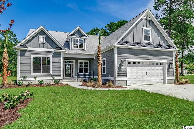 To Be Built, home can be fully customizable or just buy the lot and pick your own builder! Welcome to Waterway Palms Plantations, a magnificent neighborhood located off of Carolina Forest Blvd.  This to be built home is the complete package and will have you packing your bags as soon as you see it!  This home has all the great features of a new home and impeccable craftsmanship inside and out with 4 beds, 3 baths, plus a huge bonus room, spacious doesn't begin to describe this custom home! The open concept kitchen, living, and dining area is perfect for hosting family meals, gatherings, holiday parties, you name it!  To top it all off, you will love all the natural light that comes through this home and fills the living space. Luxury is an understatement when trying to describe this home with its formal dining room, home office space, the master suite and kitchen. The gourmet kitchen has all the must-have upgrades including granite counters, stainless steel appliances, breakfast bar, and pantry. The master bedroom has beautiful tray ceilings, a walk-in closet, and a beautiful en-suite bathroom with a double vanity, garden tub, and separate luxurious custom tile walk in shower.  Oh and cant forget about the screen in porch/patio combo, have can the best of both worlds and relax and take in a beautiful sunset from the comfort of your own back yard. While looking for your new luxury home DO NOT MISS WATERWAY PALMS PLANTATION. You'll have tons of amenities to choose from such as the just a award winning amenities center which includes a club house, fitness room, Olympic size pool, tennis/basketball courts and playground.