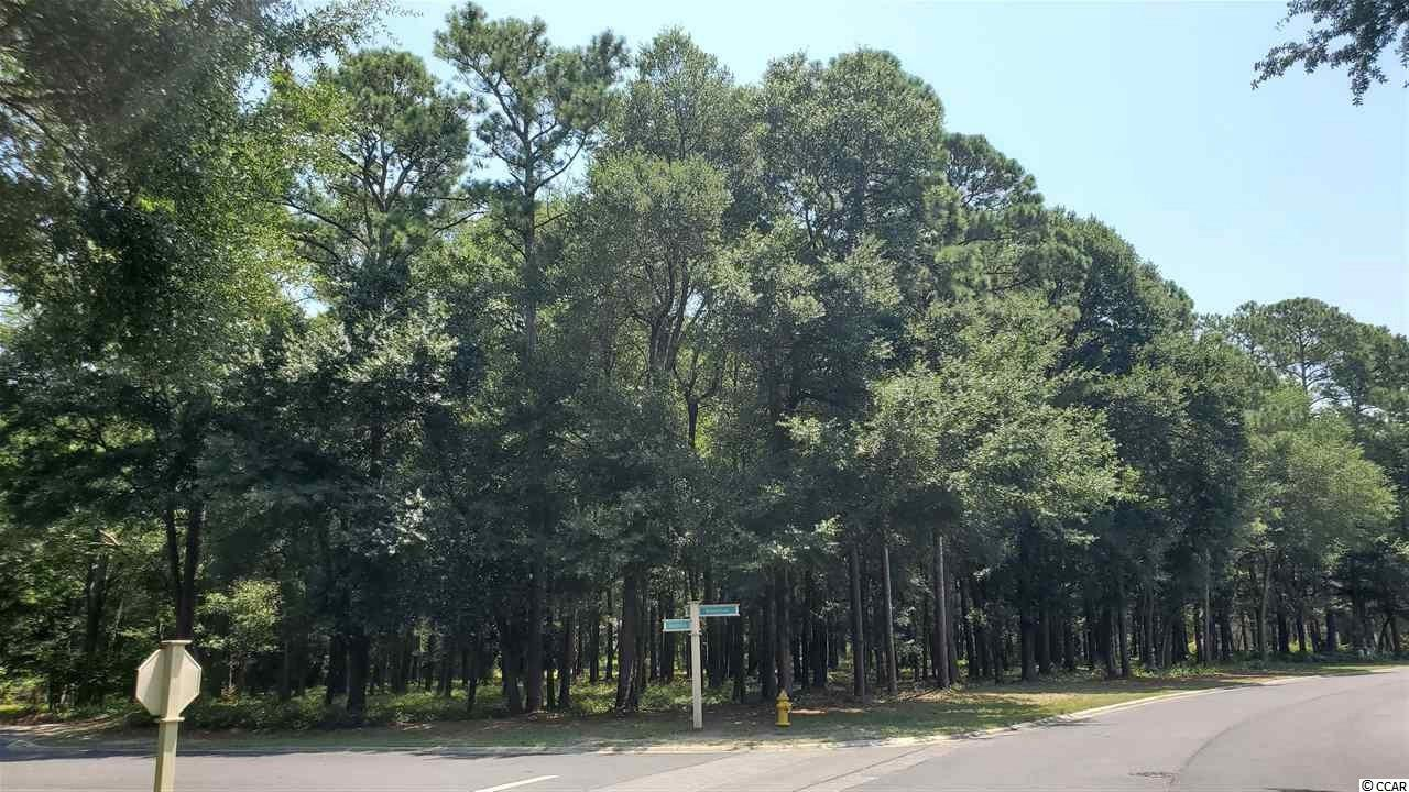 "IMPRESSIVE, SINGULAR, HALF-ACRE, SECLUDED AND WOODED CORNER LOT ON TWO PRIVATE CUL-DE-SACS IN THE PREFERRED BLUFFS OF TIDEWATER PLANTATION RESORT! Tidewater Plantation is a golf/Intracoastal Waterway/beach community.  The Bluffs Section adjoins the Cherry Grove Marsh and peaks at the Atlantic Ocean. This lot is situated on two pine and hardwood cul-de-sacs, one bordering the 14th hole of world-class Tidewater Golf Course, with its picturesque, signature lakefront. The other backs up to buffered land with privacy. Golf course lots may not be fenced, so this huge remarkable lot has many possibilities for enhanced enjoyment, including the possibility of fencing, pool, hot tub, lanai, secret garden and the like, with the approval of the Design Review Board. Other restrictions may apply. The lot lends itself, too, to a big, side-loading garage. Long-term rentals only are allowed on the Bluffs side; so, at this compelling price, flex-building options and low HOAs and taxes, this amazing, rare residential lot is an excellent investment as well as being desirable for building a vacation or permanent home. No flooding ever! There is no time frame to build. Tidewater-approved contractor list available. Approximately 1/2-acre lot: There is about 282 ft. of dual road frontage and a depth of up to 202' on this 21,344-sq.-ft.-property. THE BLUFFS OF TIDEWATER IS BEING RAPIDLY BUILT OUT. You must view!   In addition to golf and being in an ICW community, Tidewater boasts many other rich, upscale amenities, including owners' beach cabana on the Cherry Grove Beach named the 11th best in the natiion, pools & spas, clay & hard-surface tennis courts, pickle ball, bocce, horseshoes, amenities center, fitness center, driving range and putting green, 24-hour gated manned security, and clubhouse with bar & restaurants. There is even a complimentary gated storage yard for boats, campers, recreational vehicles and the like. The on-site, convenient HOA building has rooms for business and other meetings and events and a lending library. There are many clubs and activiites year round. In Tidewater, you can do it all, or just relax in the luxurious Tidewater lifestyle. The Bluffs of Tidewater is contiguous along the Cherry Grove Inlet where the Atlantic Ocean rolls into the marsh. This lot, therefore, is highly sought after by the builder, investor or soon-to-be home-owner who desire to acquire an extraordinary golf/ICW/beach property at today's market prices to be built later. Tidewater itself is on a tree-lined road to oceanfront Anne Tilghman Boyce Coastal Reserve, a nature conservancy, including Waties Island, with access for managed recreational use. Tidewater, a historic plantation, is on an elevated peninsula of live oaks and southern pines between the Intracoatal Waterway and the Cherry Grove Inlet to the Atlantic Ocean. The plantation also preserves the unique look of its own origins. It is close to the beach, shopping, entertainment, medical services, outstanding schools and parks and access to major highways.  The jewel in the crown of the development is that private owners' beach cabana on the wide, white sands of the Cherry Grove Beach, just a few minutes drive. This charming lot enjoys a lovely, indigineous peaceful environment, along with the excellent reputation of the Tidewater Golf Course, the Pebble Beach of the East.  Tidewater Plantation, in one of the U.S.'s top-10 beach towns, North Myrtle Beach, truly reflects a ""way of life."" Do not let this singular lot get away. Welcome to the the best of the beach in the Bluffs of Tidewater Resort."